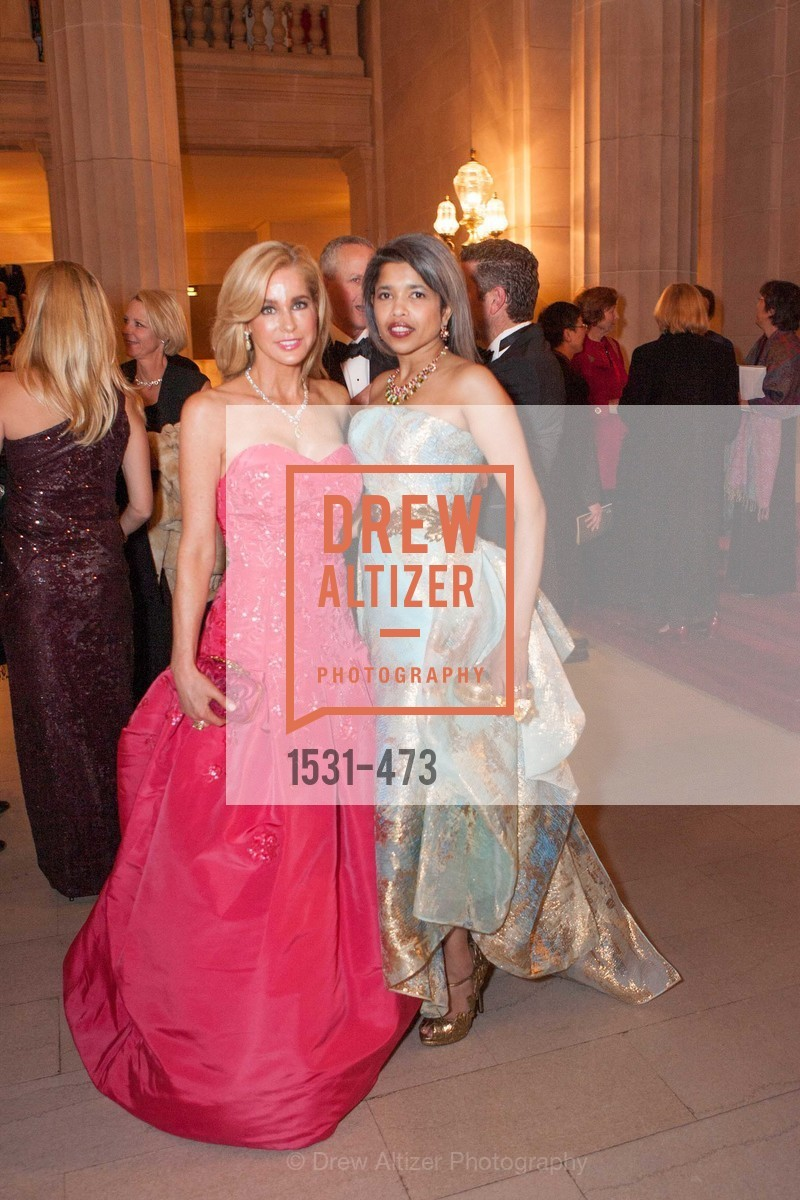 Paula Carano, Deepa Pakianathan, ENCORE! at San Francisco BALLET'S 2014 Season Opening Night Gala, US. US, January 22nd, 2014,Drew Altizer, Drew Altizer Photography, full-service event agency, private events, San Francisco photographer, photographer California