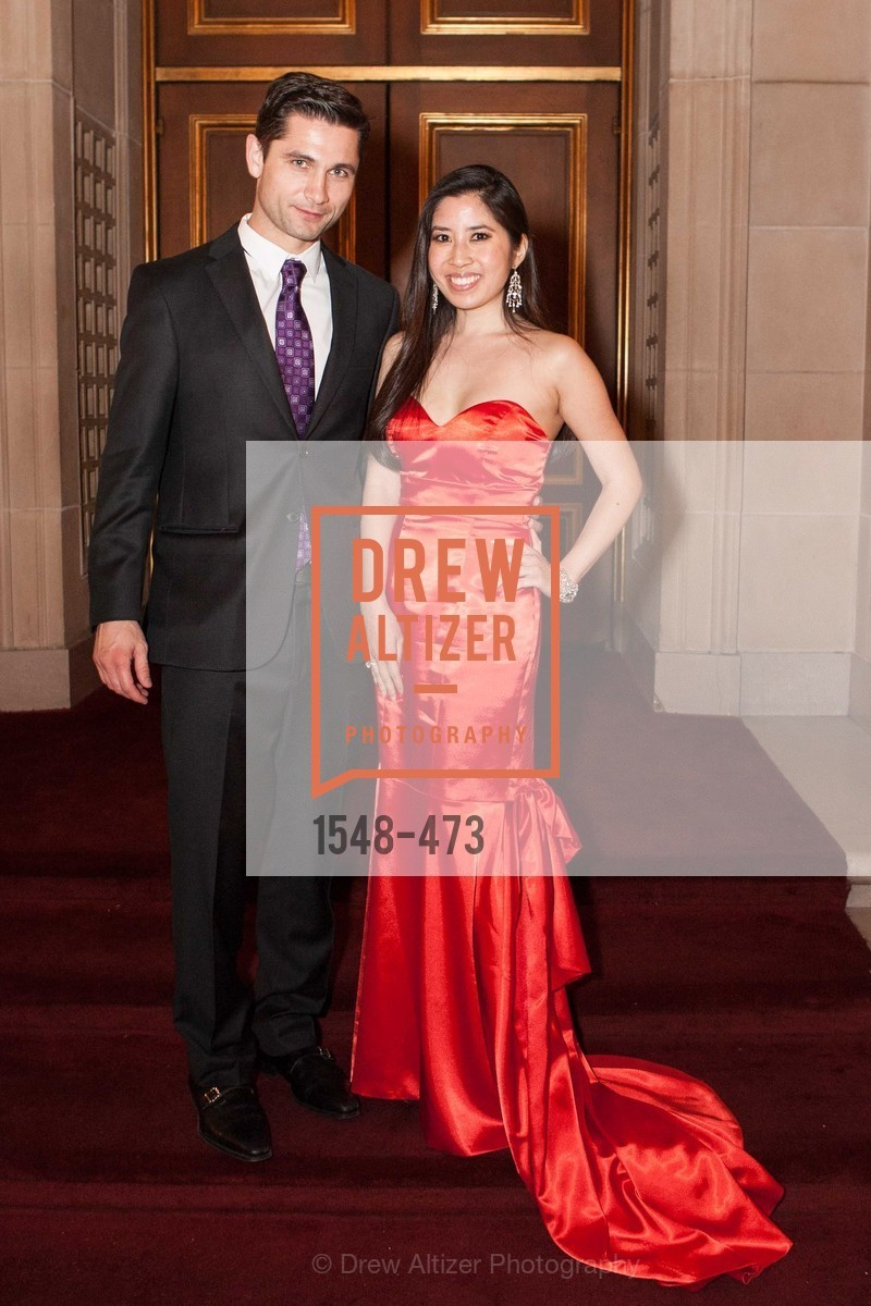 Mike Borozvin, Georgina Rufino, ENCORE! at San Francisco BALLET'S 2014 Season Opening Night Gala, US. US, January 22nd, 2014,Drew Altizer, Drew Altizer Photography, full-service agency, private events, San Francisco photographer, photographer california