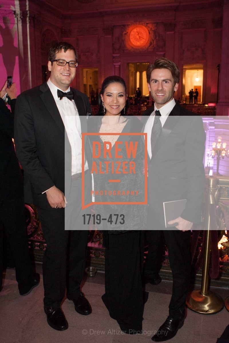 Mike Stout, Jeanne Wu, Andrew Stevens, ENCORE! at San Francisco BALLET'S 2014 Season Opening Night Gala, US. US, January 22nd, 2014,Drew Altizer, Drew Altizer Photography, full-service agency, private events, San Francisco photographer, photographer california