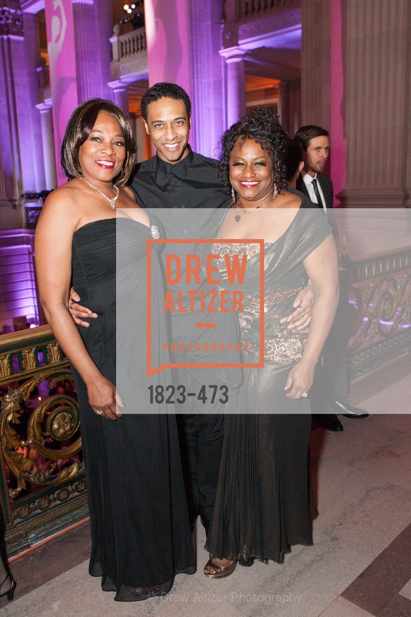 Deborah Starr, Anthony Spaulding, Robin Campbell, ENCORE! at San Francisco BALLET'S 2014 Season Opening Night Gala, US. US, January 22nd, 2014,Drew Altizer, Drew Altizer Photography, full-service agency, private events, San Francisco photographer, photographer california