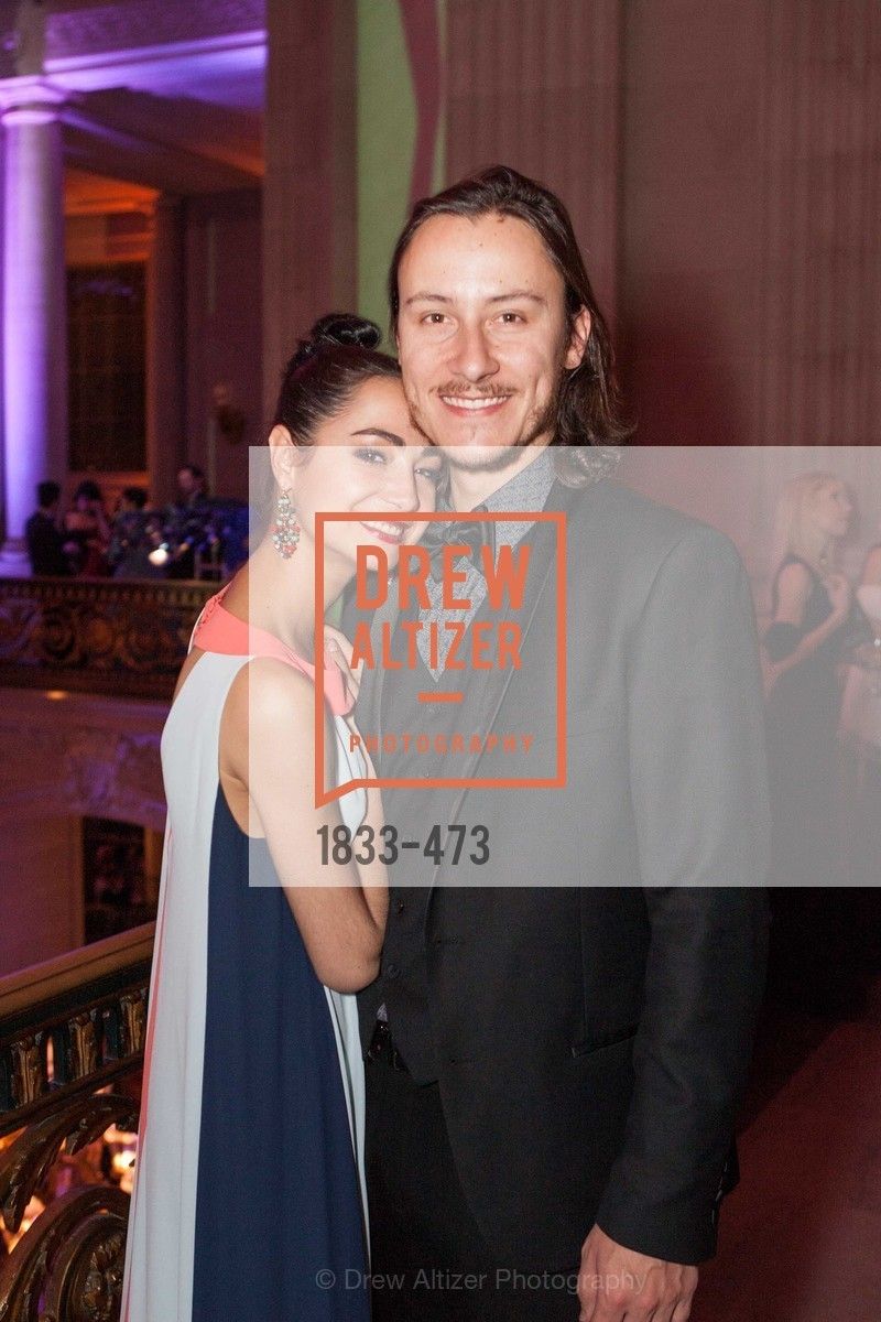 Mathilde Froustey, Charles Redden, ENCORE! at San Francisco BALLET'S 2014 Season Opening Night Gala, US. US, January 22nd, 2014,Drew Altizer, Drew Altizer Photography, full-service agency, private events, San Francisco photographer, photographer california