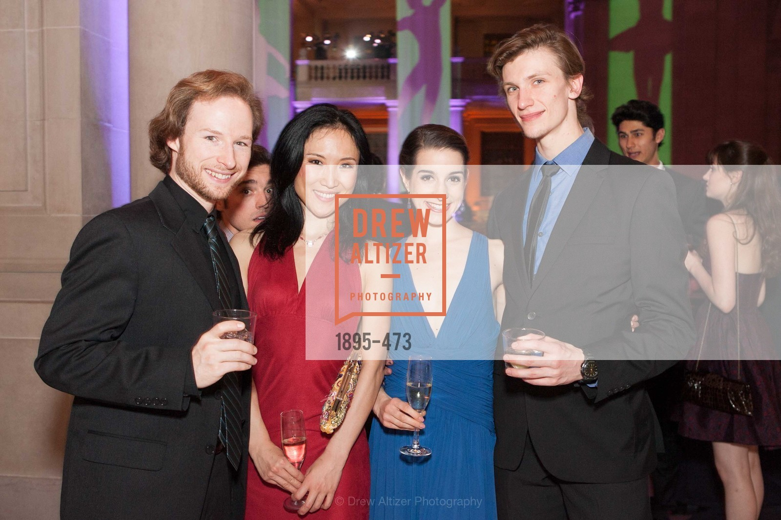 Benjamin Stewart, Julia Rowe, Alex Reneff-Olson, ENCORE! at San Francisco BALLET'S 2014 Season Opening Night Gala, US. US, January 22nd, 2014,Drew Altizer, Drew Altizer Photography, full-service event agency, private events, San Francisco photographer, photographer California