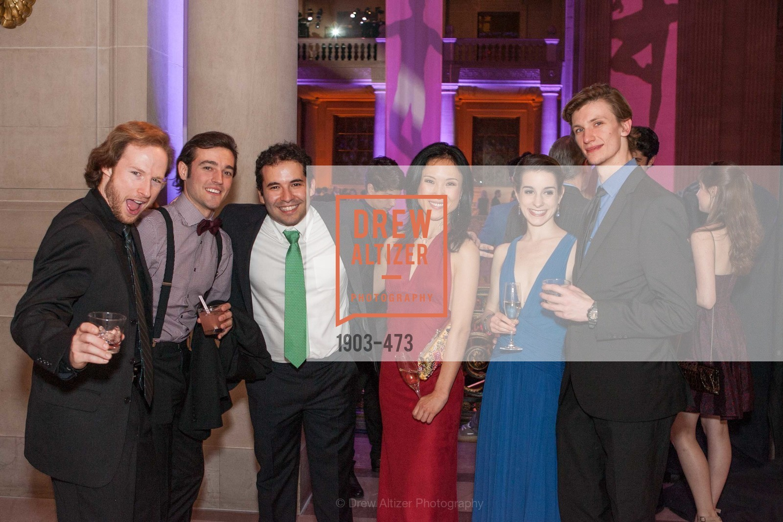 Benjamin Stewart, Diego Cruz Alvarez, Jose Gonzalez, Julia Rowe, Alex Reneff-Olson, ENCORE! at San Francisco BALLET'S 2014 Season Opening Night Gala, US. US, January 22nd, 2014,Drew Altizer, Drew Altizer Photography, full-service agency, private events, San Francisco photographer, photographer california