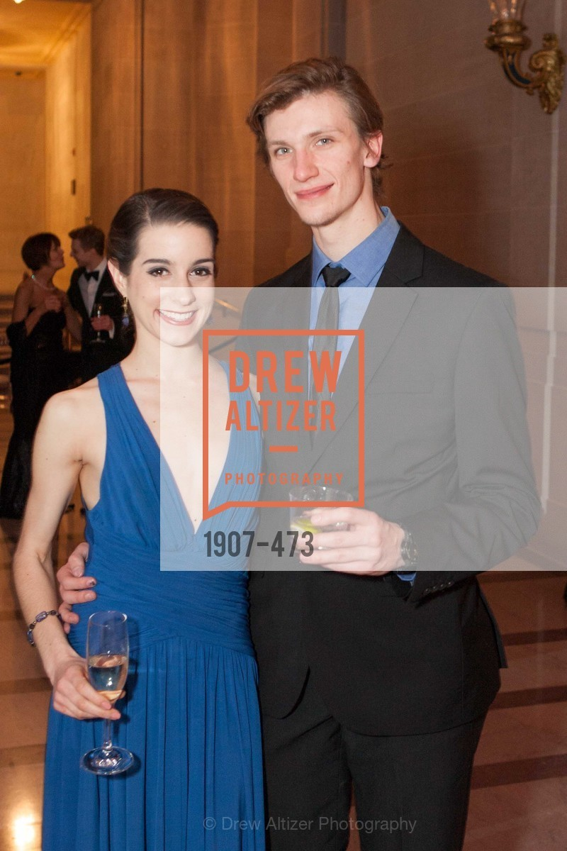 Julia Rowe, Alex Reneff-Olson, ENCORE! at San Francisco BALLET'S 2014 Season Opening Night Gala, US. US, January 22nd, 2014,Drew Altizer, Drew Altizer Photography, full-service agency, private events, San Francisco photographer, photographer california