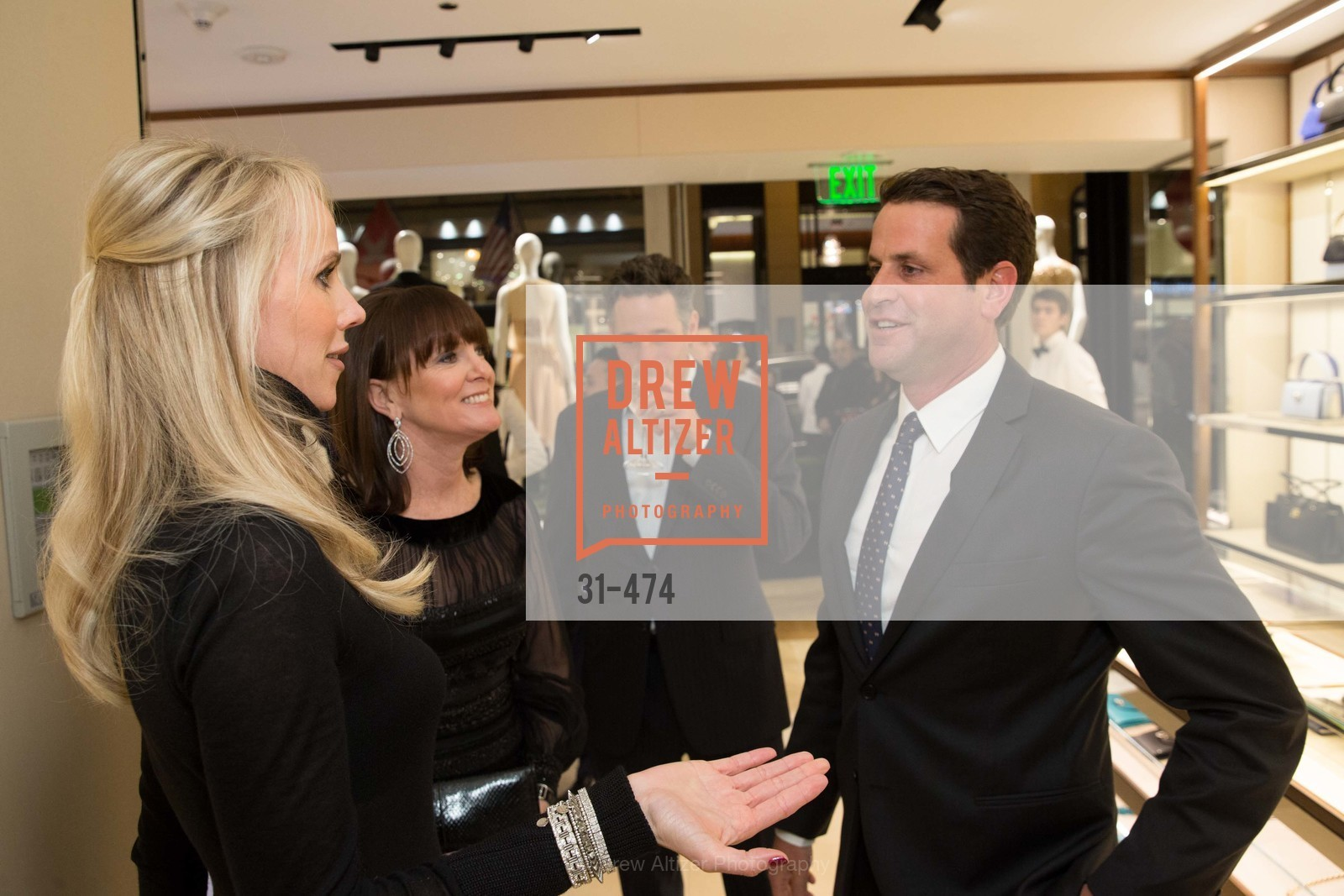 Allison Speer, Vanessa Getty, Nick Heldfond, SALVATORE FERRAGAMO San Francisco Re-Opening, US. US, January 23rd, 2014,Drew Altizer, Drew Altizer Photography, full-service agency, private events, San Francisco photographer, photographer california