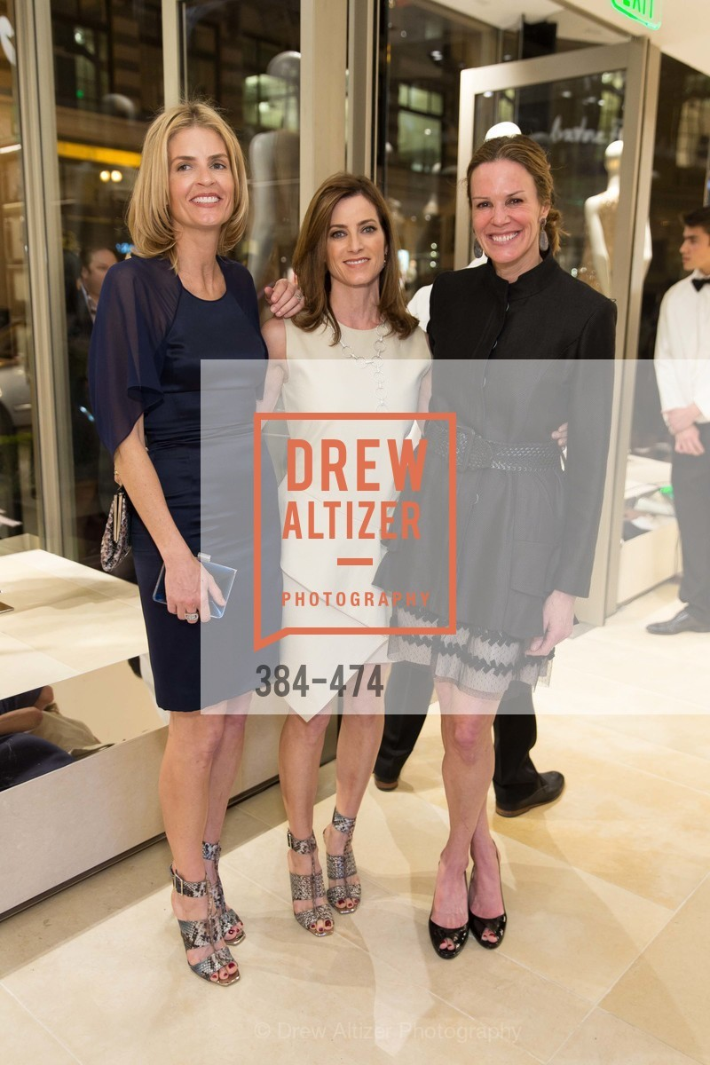 Vandy Boudreau, Carol Bonnie, Leslie Thieriot, SALVATORE FERRAGAMO San Francisco Re-Opening, US. US, January 23rd, 2014,Drew Altizer, Drew Altizer Photography, full-service agency, private events, San Francisco photographer, photographer california