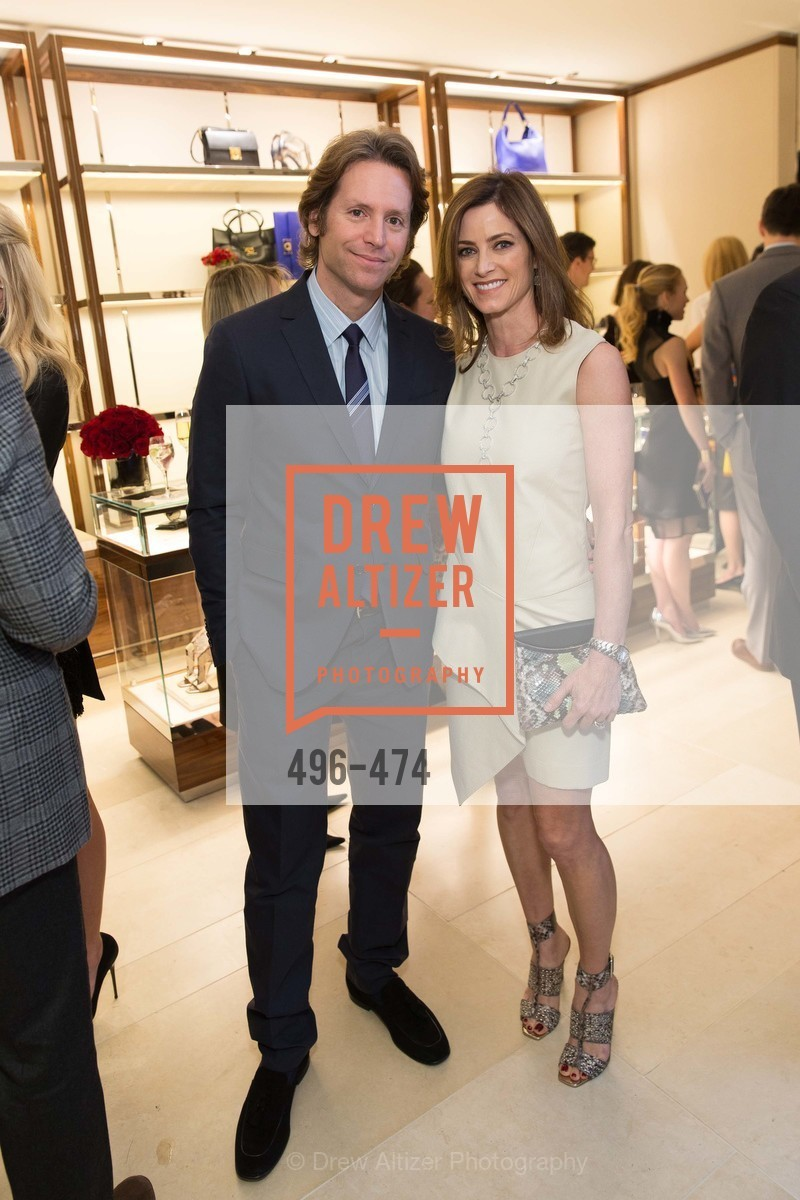 Trevor Traina, Carol Bonnie, SALVATORE FERRAGAMO San Francisco Re-Opening, US. US, January 23rd, 2014,Drew Altizer, Drew Altizer Photography, full-service agency, private events, San Francisco photographer, photographer california