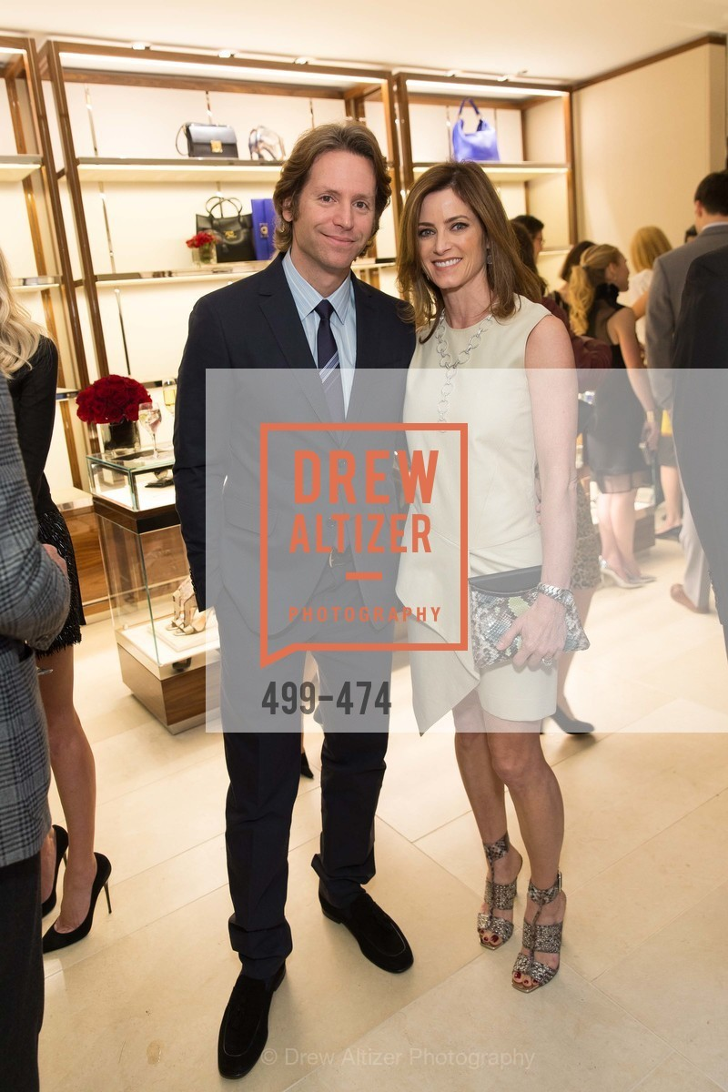 Trevor Traina, Carol Bonnie, SALVATORE FERRAGAMO San Francisco Re-Opening, US. US, January 23rd, 2014,Drew Altizer, Drew Altizer Photography, full-service event agency, private events, San Francisco photographer, photographer California