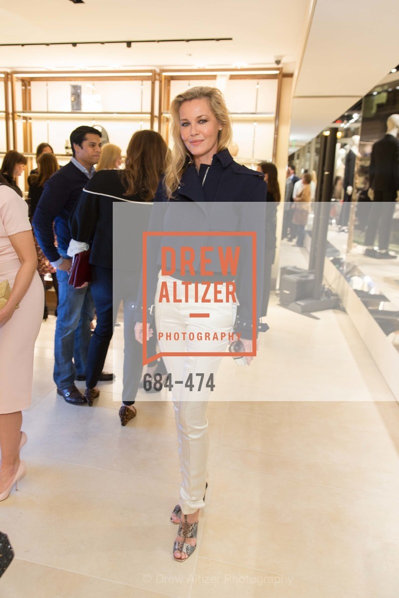 Connie Nielsen, SALVATORE FERRAGAMO San Francisco Re-Opening, US. US, January 23rd, 2014
