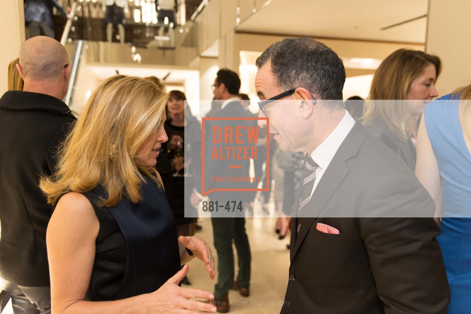 Kathryn Lasater, Colin Bailey, SALVATORE FERRAGAMO San Francisco Re-Opening, US. US, January 23rd, 2014,Drew Altizer, Drew Altizer Photography, full-service agency, private events, San Francisco photographer, photographer california
