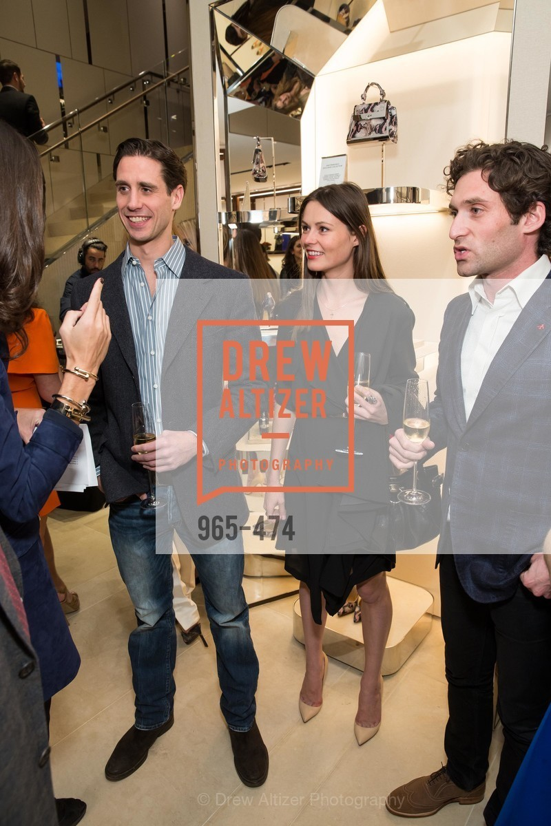 Andrei Karkar, Kat Barilov, Justin Fichelson, SALVATORE FERRAGAMO San Francisco Re-Opening, US. US, January 23rd, 2014,Drew Altizer, Drew Altizer Photography, full-service agency, private events, San Francisco photographer, photographer california
