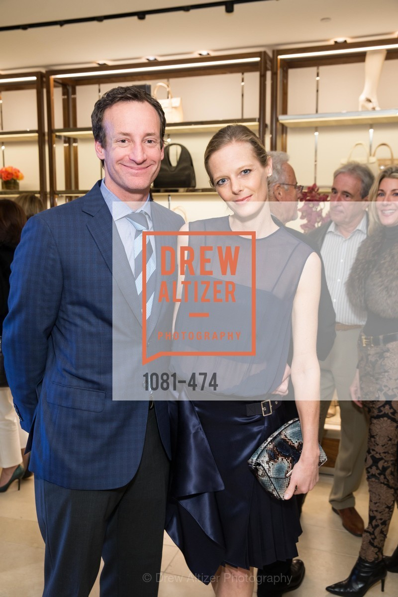 Todd Traina, Katie Traina, SALVATORE FERRAGAMO San Francisco Re-Opening, US. US, January 23rd, 2014,Drew Altizer, Drew Altizer Photography, full-service agency, private events, San Francisco photographer, photographer california