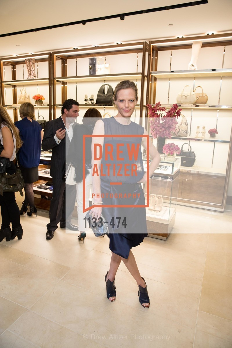 Katie Traina, SALVATORE FERRAGAMO San Francisco Re-Opening, US. US, January 23rd, 2014