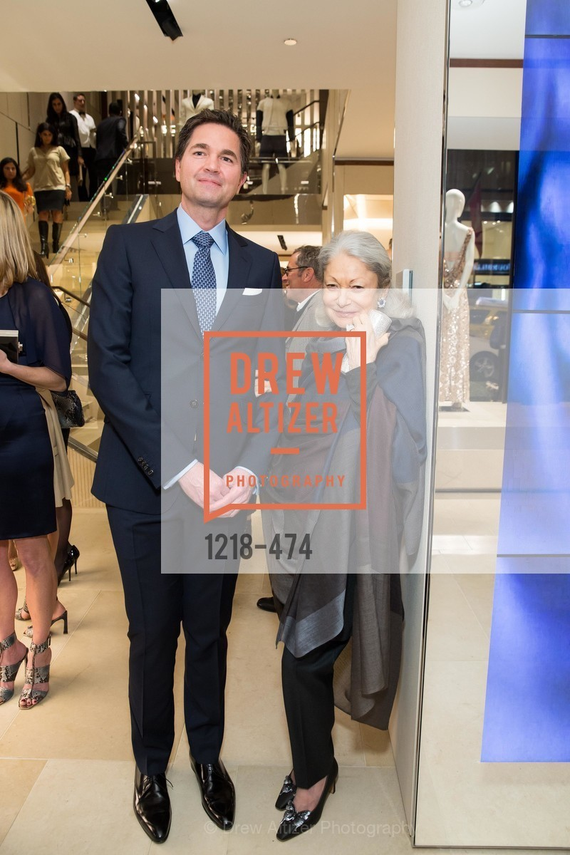 Alex Chases, Denise Hale, SALVATORE FERRAGAMO San Francisco Re-Opening, US. US, January 23rd, 2014,Drew Altizer, Drew Altizer Photography, full-service event agency, private events, San Francisco photographer, photographer California