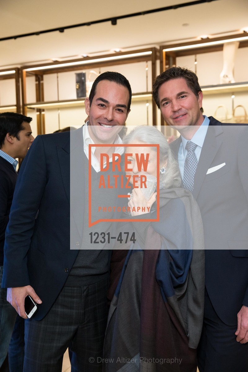 Greg Lopez, Denise Hale, Alex Chases, SALVATORE FERRAGAMO San Francisco Re-Opening, US. US, January 23rd, 2014,Drew Altizer, Drew Altizer Photography, full-service agency, private events, San Francisco photographer, photographer california