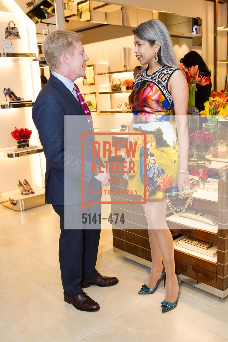 Peter Christman, Deepa Pakianathan, SALVATORE FERRAGAMO San Francisco Re-Opening, US. US, January 23rd, 2014,Drew Altizer, Drew Altizer Photography, full-service agency, private events, San Francisco photographer, photographer california