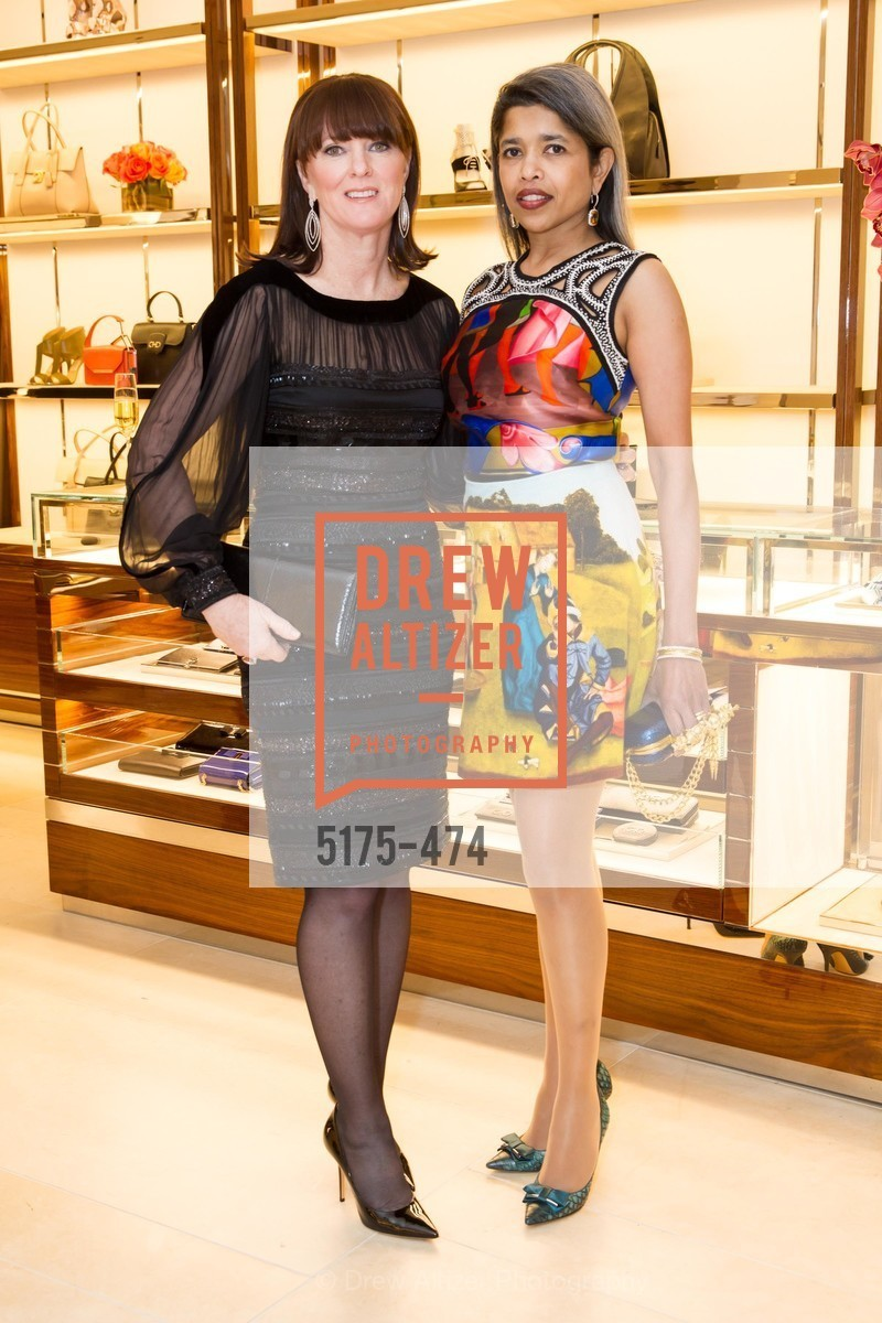 Allison Speer, Deepa Pakianathan, SALVATORE FERRAGAMO San Francisco Re-Opening, US. US, January 23rd, 2014,Drew Altizer, Drew Altizer Photography, full-service agency, private events, San Francisco photographer, photographer california