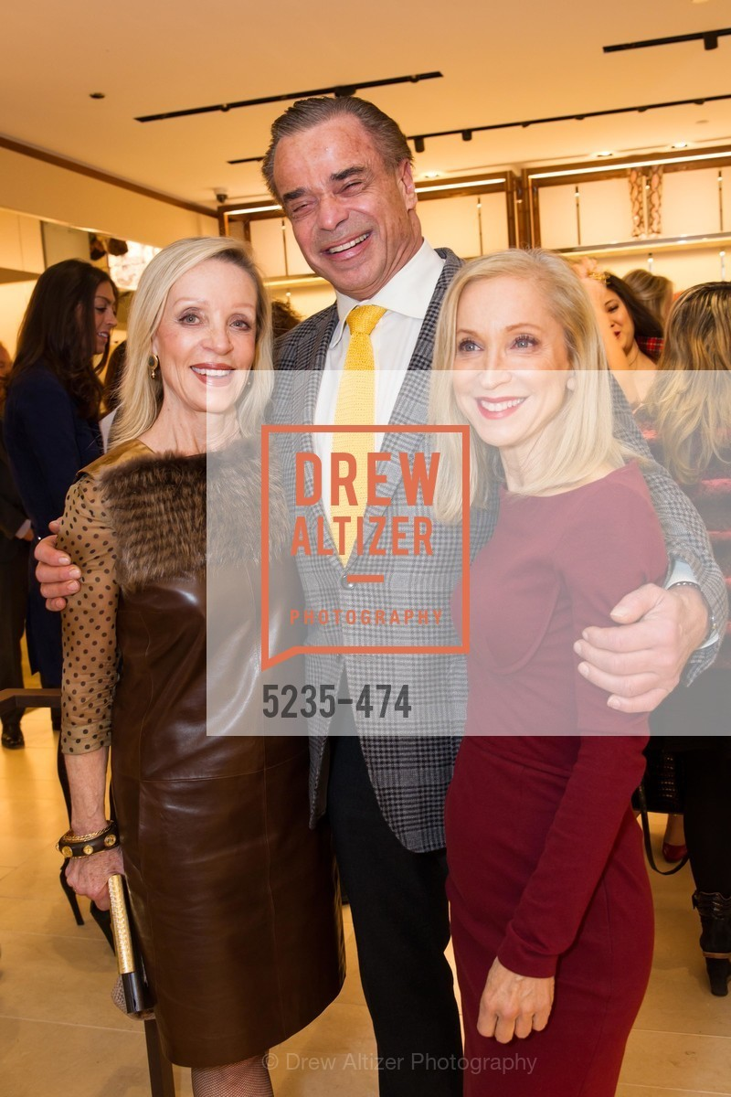 Barbara Brown, Boaz Mazor, Shelley Gordon, SALVATORE FERRAGAMO San Francisco Re-Opening, US. US, January 23rd, 2014,Drew Altizer, Drew Altizer Photography, full-service agency, private events, San Francisco photographer, photographer california