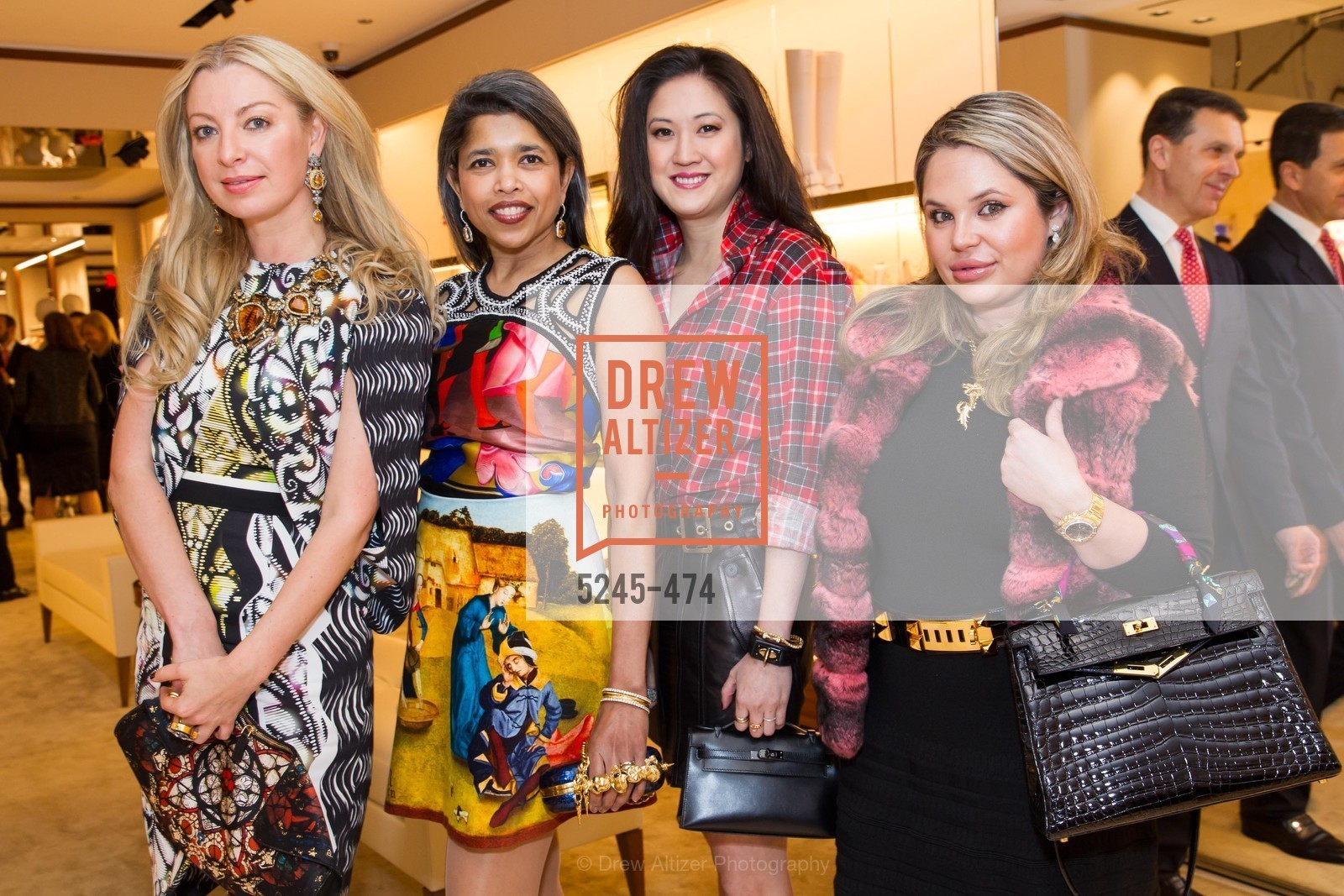 Sonya Molodetskaya, Deepa Pakianathan, Jessica Hon, Rada Katz, SALVATORE FERRAGAMO San Francisco Re-Opening, US. US, January 23rd, 2014,Drew Altizer, Drew Altizer Photography, full-service agency, private events, San Francisco photographer, photographer california
