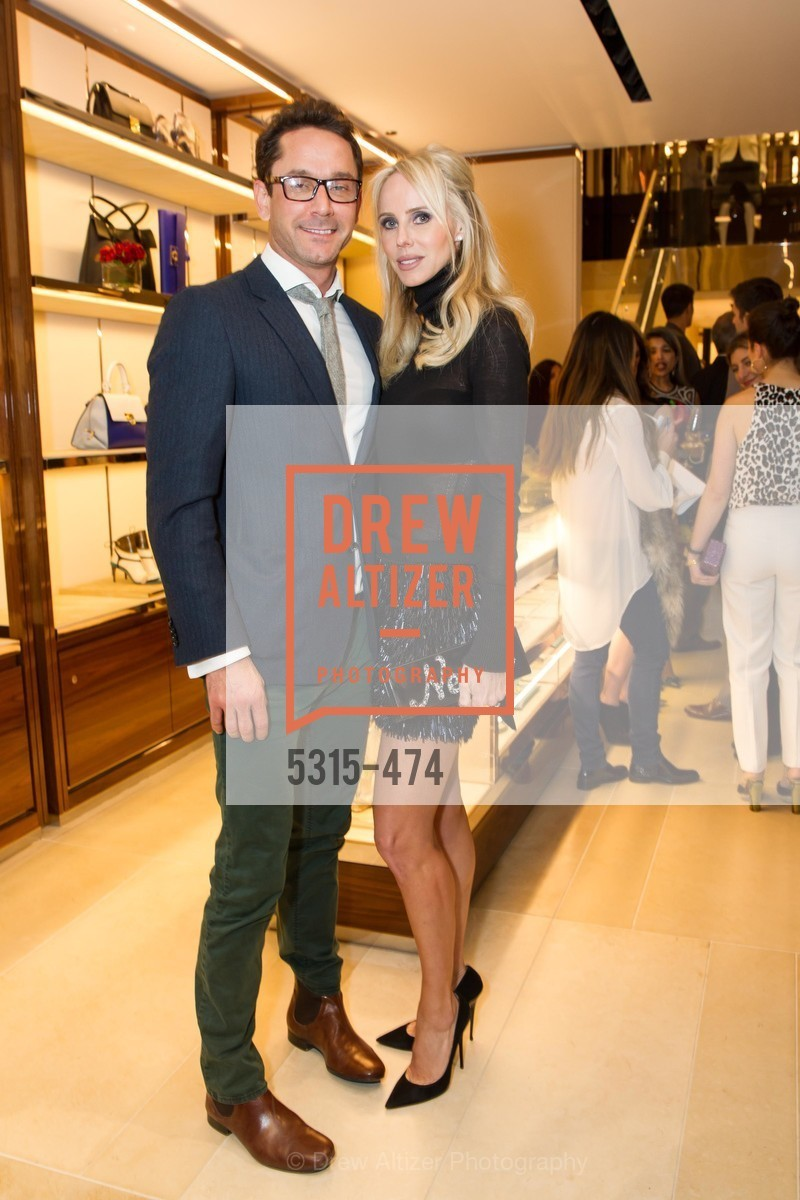 Damian Smith, Vanessa Getty, SALVATORE FERRAGAMO San Francisco Re-Opening, US. US, January 23rd, 2014,Drew Altizer, Drew Altizer Photography, full-service agency, private events, San Francisco photographer, photographer california