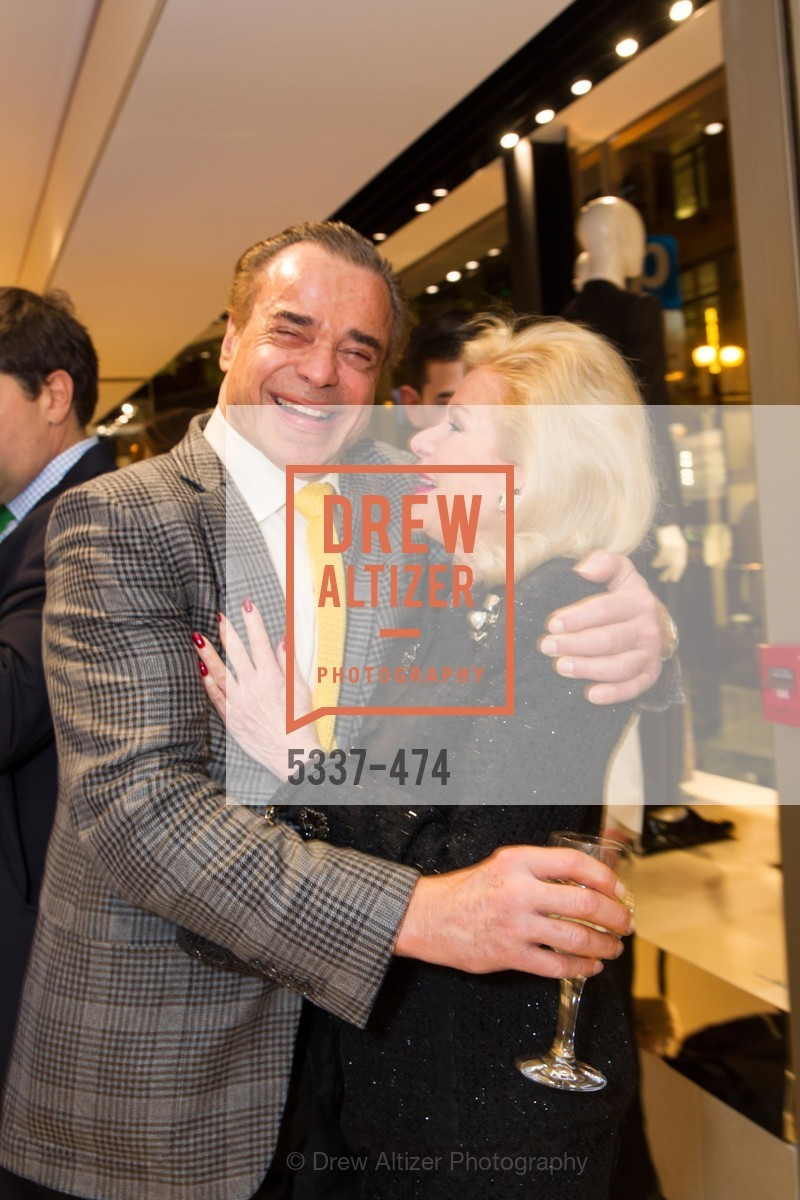 Boaz Mazor, Dede Wilsey, SALVATORE FERRAGAMO San Francisco Re-Opening, US. US, January 23rd, 2014,Drew Altizer, Drew Altizer Photography, full-service event agency, private events, San Francisco photographer, photographer California
