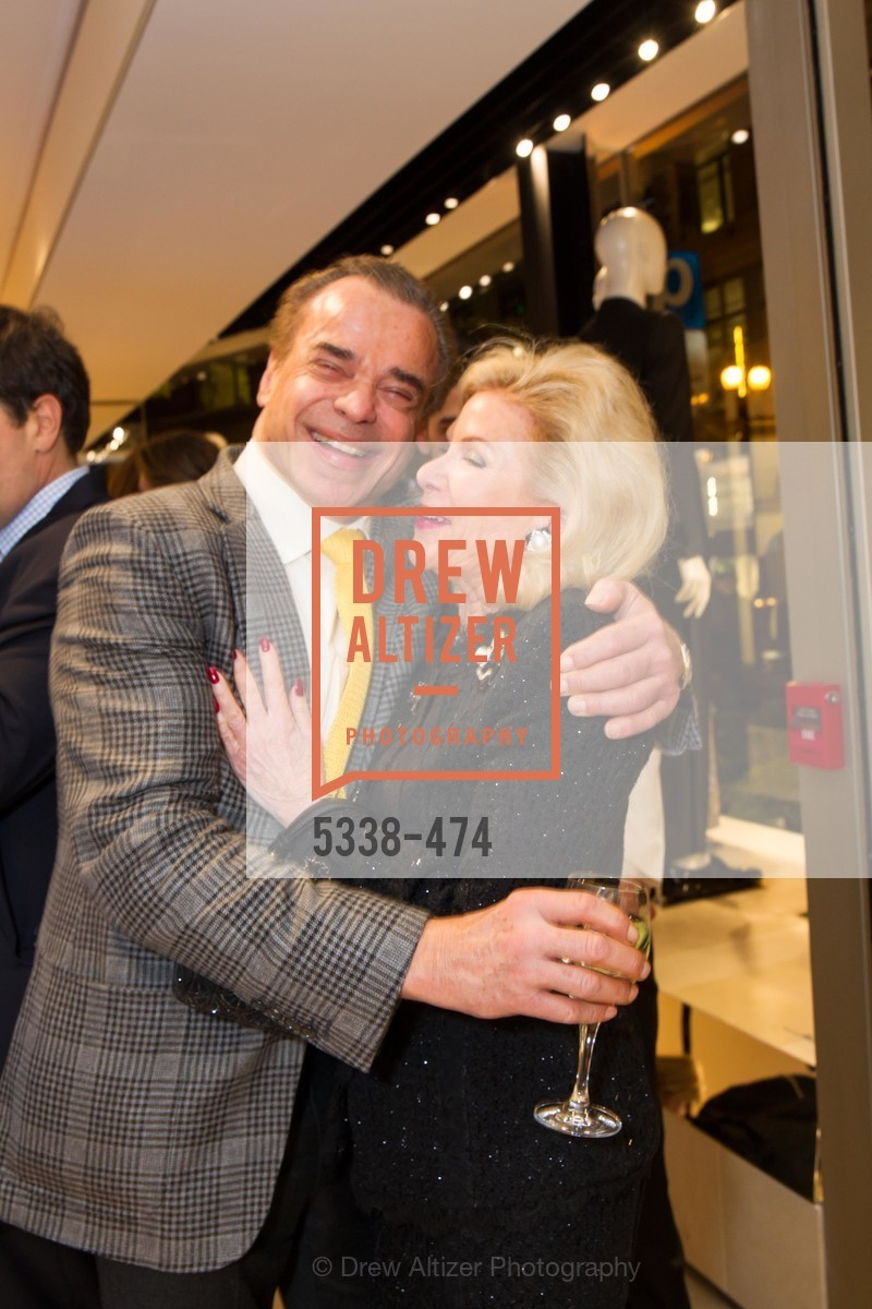 Boaz Mazor, Dede Wilsey, SALVATORE FERRAGAMO San Francisco Re-Opening, US. US, January 23rd, 2014,Drew Altizer, Drew Altizer Photography, full-service agency, private events, San Francisco photographer, photographer california