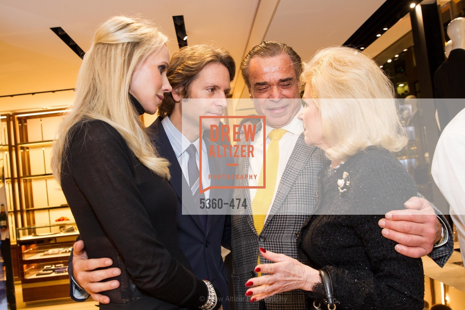 Vanessa Getty, Trevor Traina, Boaz Mazor, Dede Wilsey, SALVATORE FERRAGAMO San Francisco Re-Opening, US. US, January 23rd, 2014,Drew Altizer, Drew Altizer Photography, full-service agency, private events, San Francisco photographer, photographer california