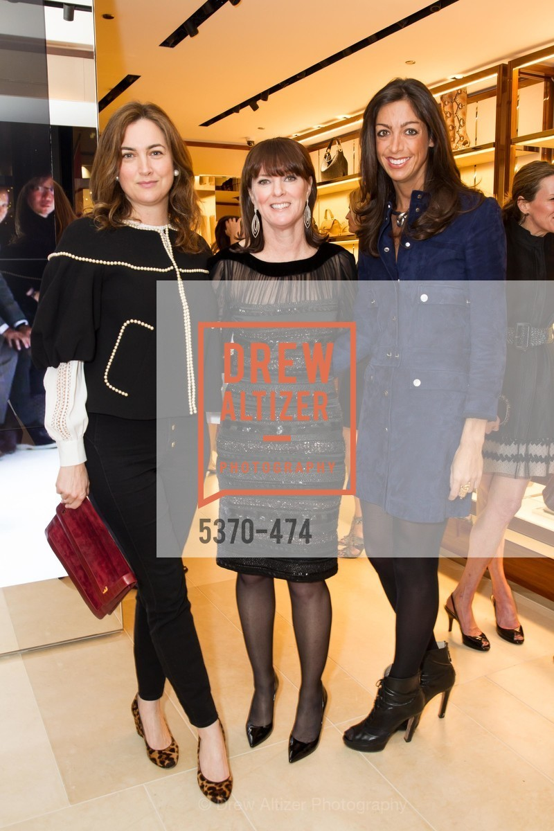 Alexis Traina, Allison Speer, Trisha Gregory, SALVATORE FERRAGAMO San Francisco Re-Opening, US. US, January 23rd, 2014,Drew Altizer, Drew Altizer Photography, full-service event agency, private events, San Francisco photographer, photographer California