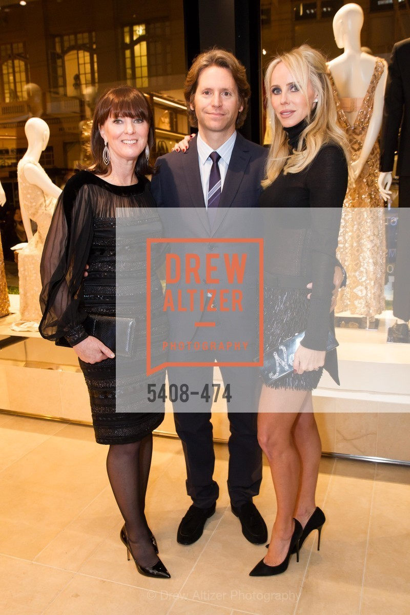 Allison Speer, Trevor Traina, Vanessa Getty, SALVATORE FERRAGAMO San Francisco Re-Opening, US. US, January 23rd, 2014,Drew Altizer, Drew Altizer Photography, full-service agency, private events, San Francisco photographer, photographer california