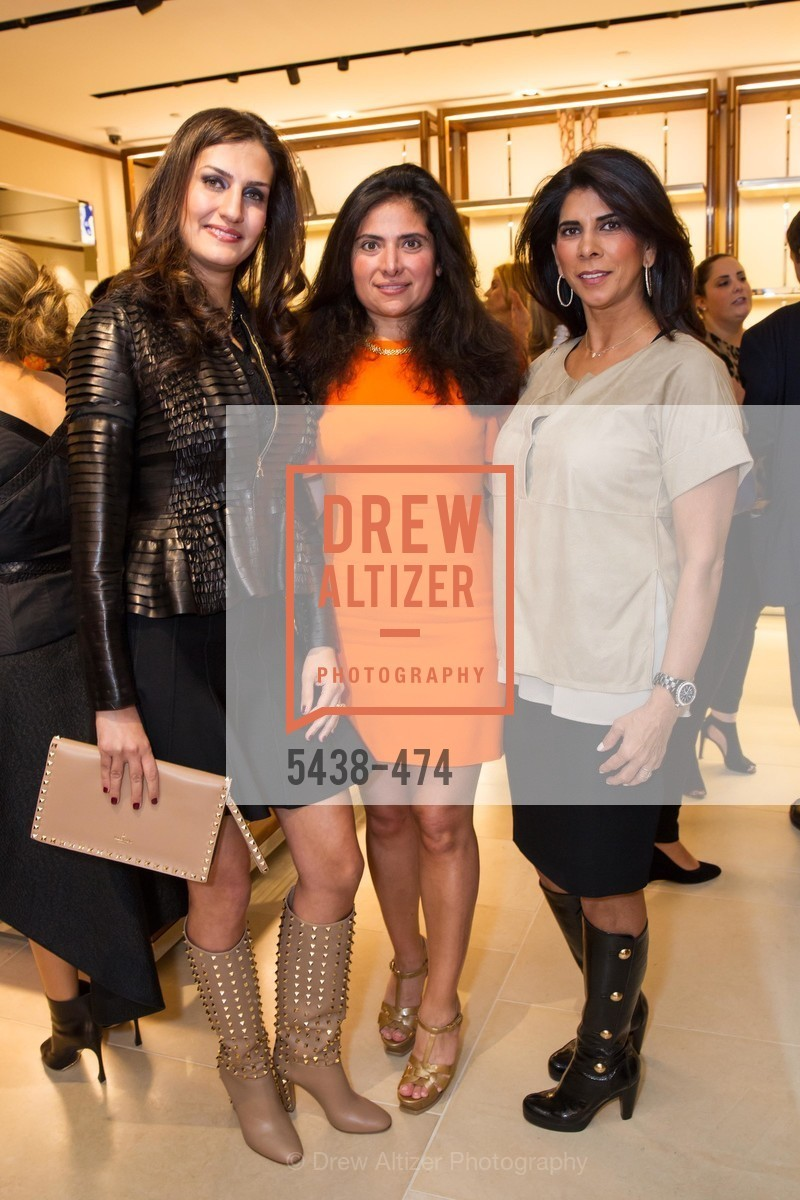 Leyla Alhosseini, Minal Jethmal, Sujata Pherwani, SALVATORE FERRAGAMO San Francisco Re-Opening, US. US, January 23rd, 2014,Drew Altizer, Drew Altizer Photography, full-service agency, private events, San Francisco photographer, photographer california