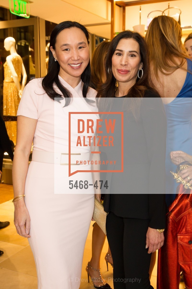 Carolyn Chang, Stephanie Milligan, SALVATORE FERRAGAMO San Francisco Re-Opening, US. US, January 23rd, 2014,Drew Altizer, Drew Altizer Photography, full-service event agency, private events, San Francisco photographer, photographer California