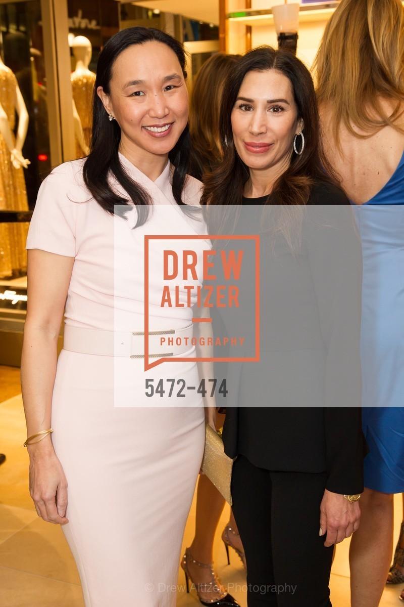 Carolyn Chang, Stephanie Milligan, SALVATORE FERRAGAMO San Francisco Re-Opening, US. US, January 23rd, 2014