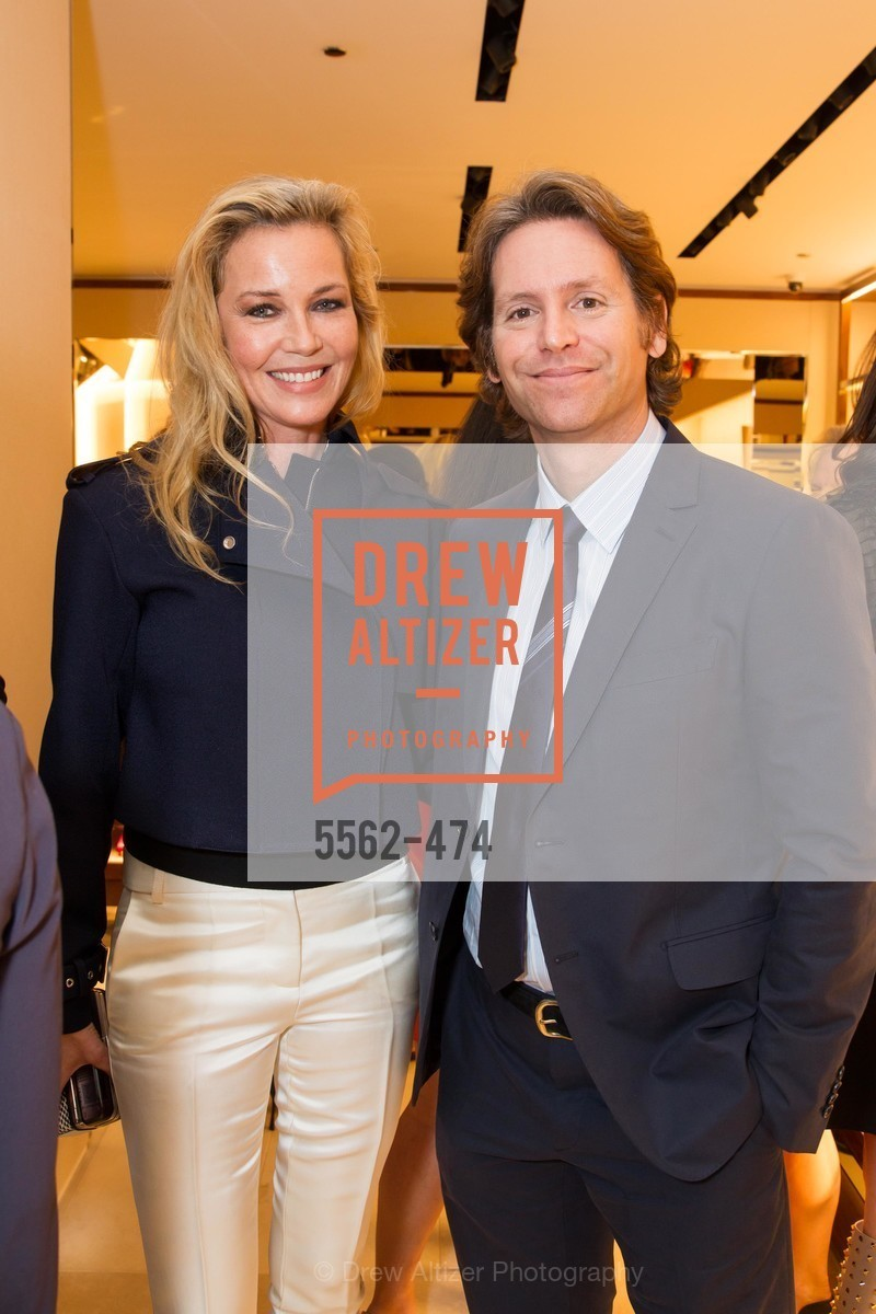 Connie Nielsen, Trevor Traina, SALVATORE FERRAGAMO San Francisco Re-Opening, US. US, January 23rd, 2014,Drew Altizer, Drew Altizer Photography, full-service agency, private events, San Francisco photographer, photographer california