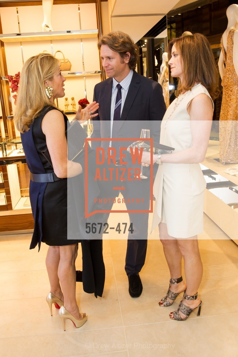 Kathryn Lasater, Trevor Traina, Carol Bonnie, SALVATORE FERRAGAMO San Francisco Re-Opening, US. US, January 23rd, 2014,Drew Altizer, Drew Altizer Photography, full-service agency, private events, San Francisco photographer, photographer california