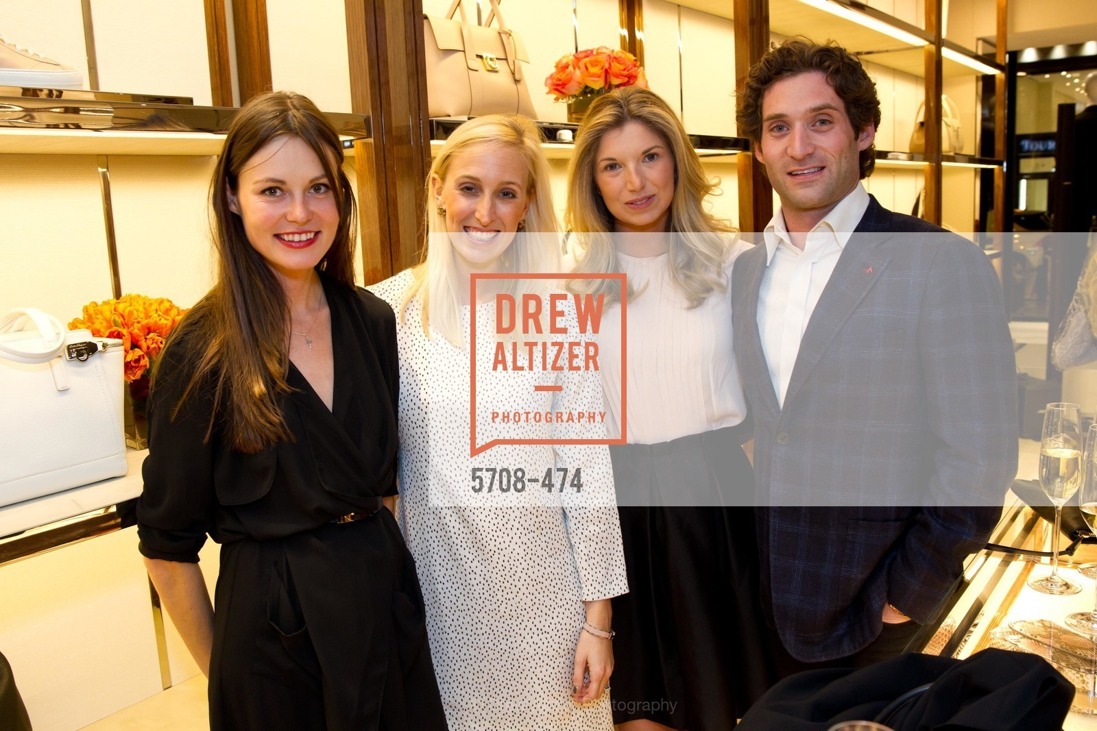 Katerina Barilov, Maria Hemphill, Cameron Phleger, Justin Fichelson, SALVATORE FERRAGAMO San Francisco Re-Opening, US. US, January 23rd, 2014,Drew Altizer, Drew Altizer Photography, full-service event agency, private events, San Francisco photographer, photographer California