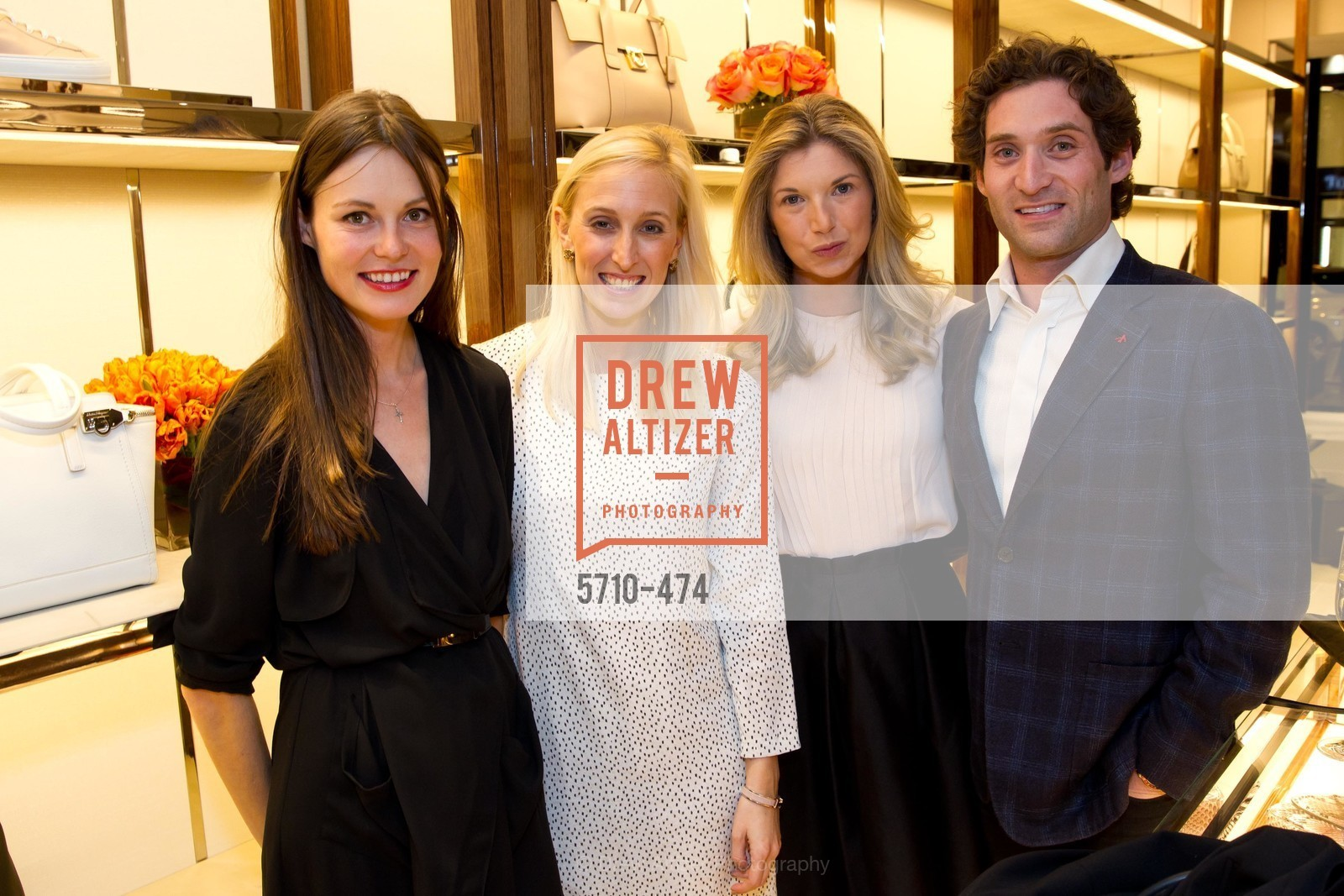 Katerina Barilov, Maria Hemphill, Cameron Phleger, Justin Fichelson, SALVATORE FERRAGAMO San Francisco Re-Opening, US. US, January 23rd, 2014,Drew Altizer, Drew Altizer Photography, full-service agency, private events, San Francisco photographer, photographer california