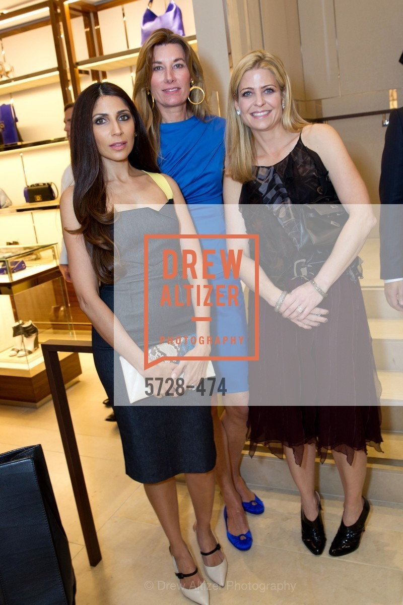 Sobia Shaikh, Susan Dunlevy, Jenna Hunt, SALVATORE FERRAGAMO San Francisco Re-Opening, US. US, January 23rd, 2014,Drew Altizer, Drew Altizer Photography, full-service agency, private events, San Francisco photographer, photographer california