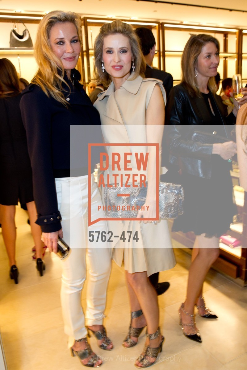 Connie Nielsen, Kate Harbin, SALVATORE FERRAGAMO San Francisco Re-Opening, US. US, January 23rd, 2014,Drew Altizer, Drew Altizer Photography, full-service event agency, private events, San Francisco photographer, photographer California