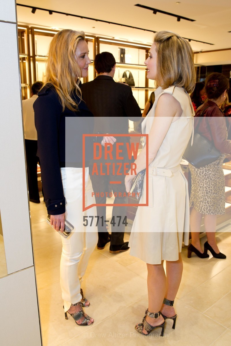 Connie Nielsen, Kate Harbin, SALVATORE FERRAGAMO San Francisco Re-Opening, US. US, January 23rd, 2014