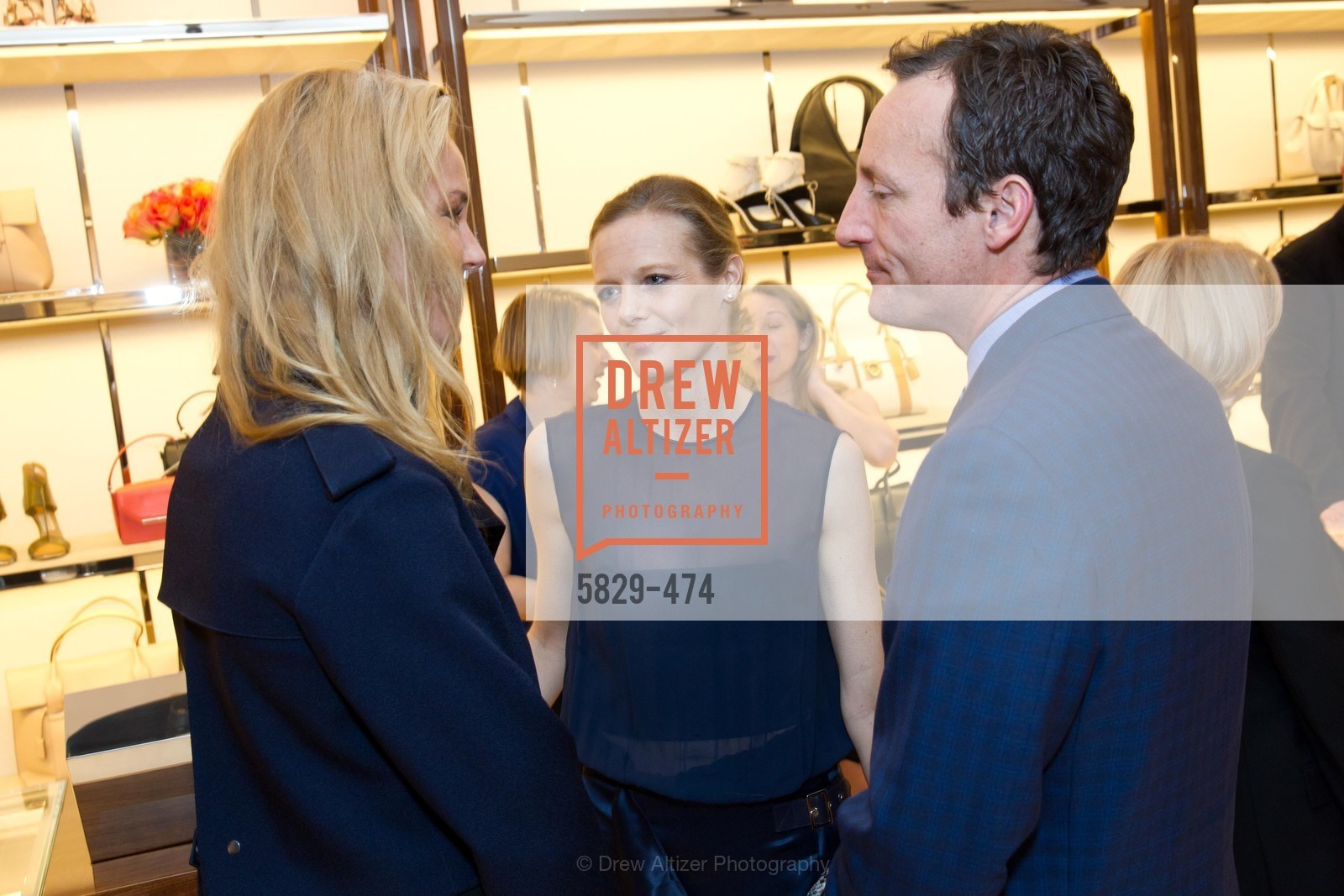 Connie Nielsen, Katie Traina, Todd Traina, SALVATORE FERRAGAMO San Francisco Re-Opening, US. US, January 23rd, 2014,Drew Altizer, Drew Altizer Photography, full-service agency, private events, San Francisco photographer, photographer california