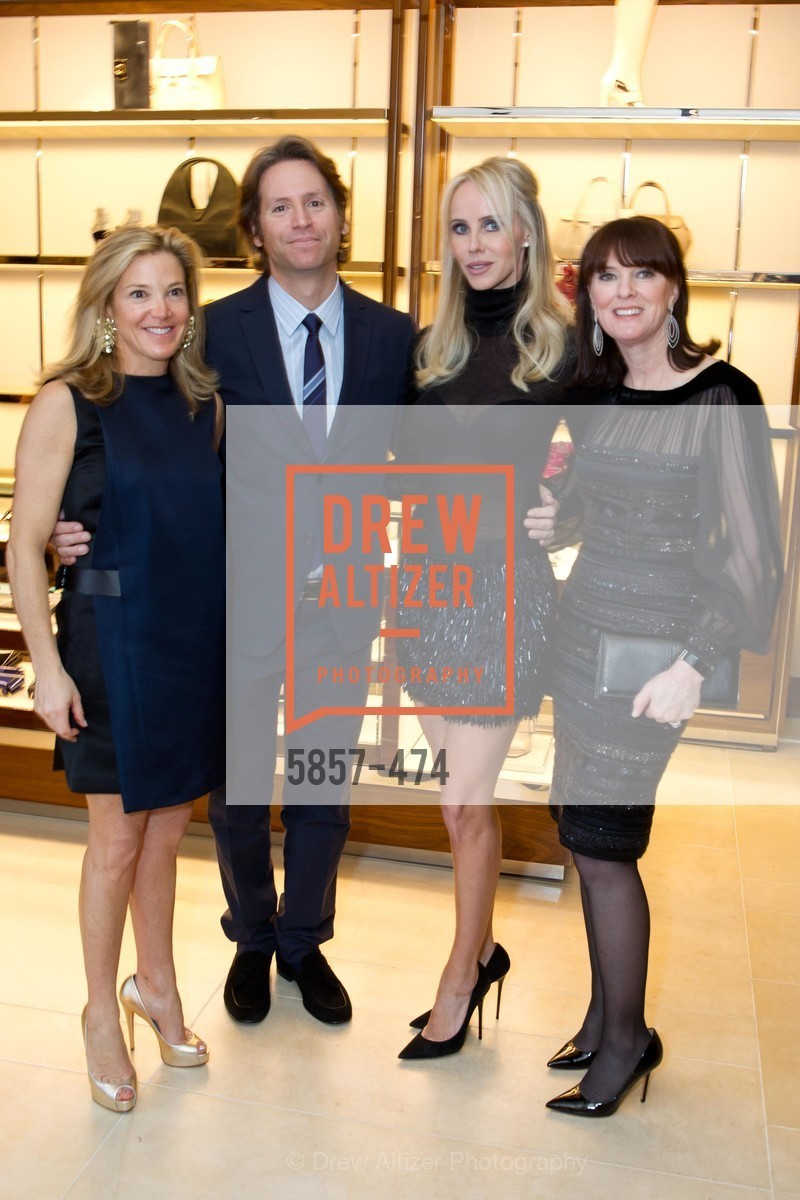Kathryn Lasater, Trevor Traina, Vanessa Getty, Allison Speer, SALVATORE FERRAGAMO San Francisco Re-Opening, US. US, January 23rd, 2014,Drew Altizer, Drew Altizer Photography, full-service agency, private events, San Francisco photographer, photographer california