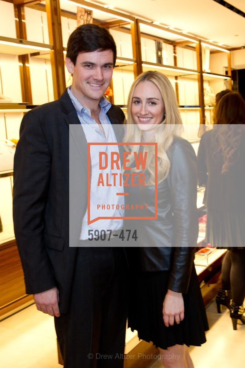 John O'Connor, Sydney Lalonde, SALVATORE FERRAGAMO San Francisco Re-Opening, US. US, January 23rd, 2014,Drew Altizer, Drew Altizer Photography, full-service agency, private events, San Francisco photographer, photographer california