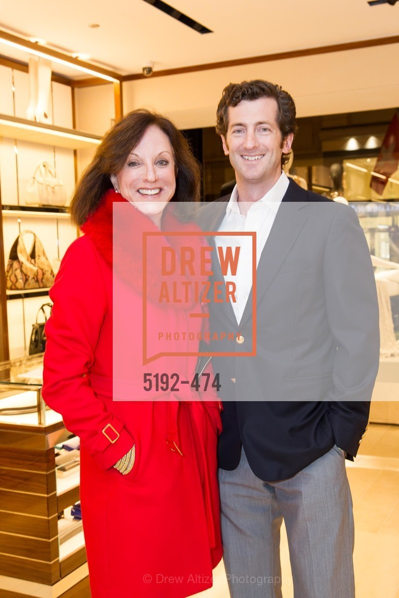 Therese Post, Malcolm Post, SALVATORE FERRAGAMO San Francisco Re-Opening, US. US, January 23rd, 2014,Drew Altizer, Drew Altizer Photography, full-service agency, private events, San Francisco photographer, photographer california