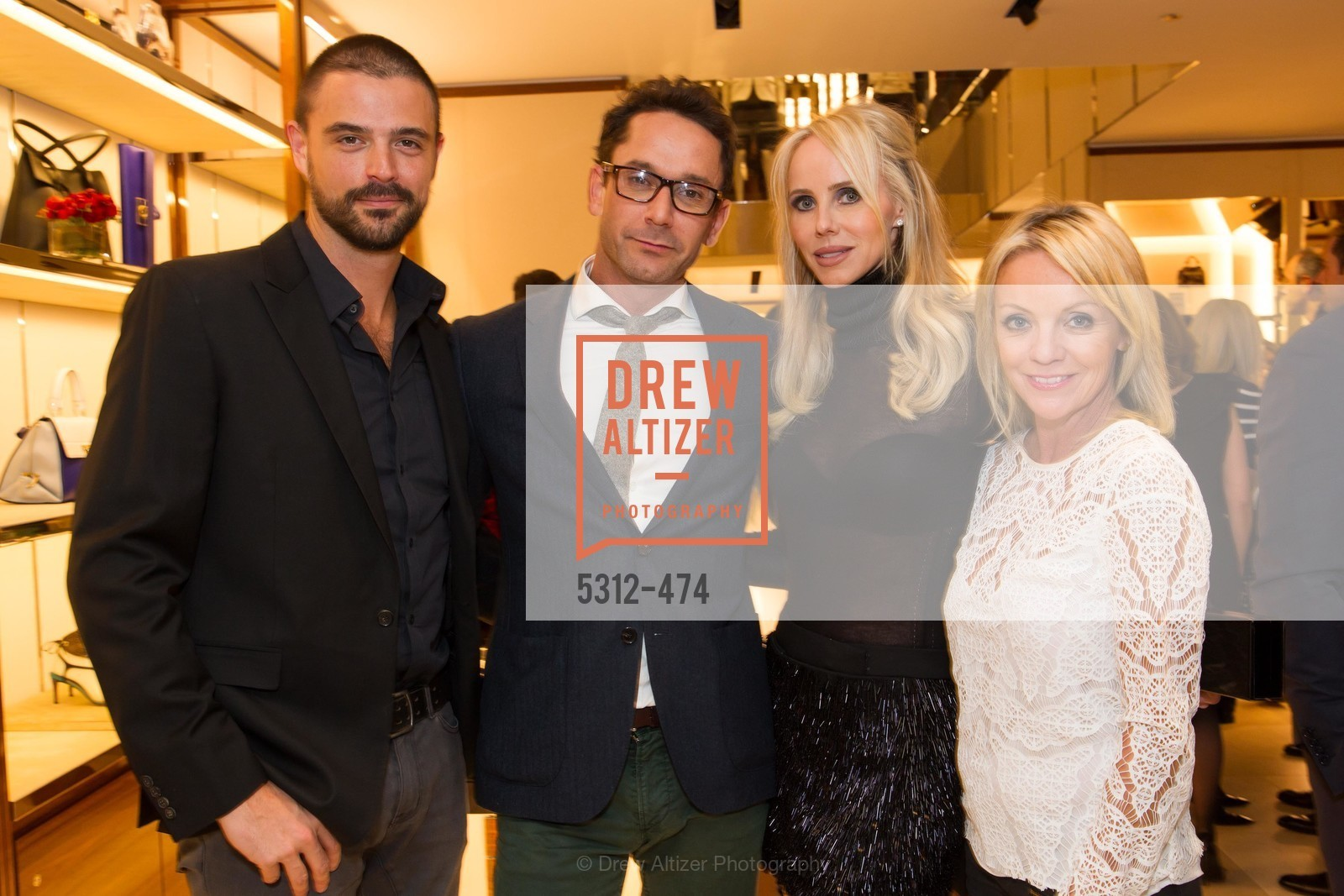 John Gidding, Damian Smith, Vanessa Getty, Angie Silvy, SALVATORE FERRAGAMO San Francisco Re-Opening, US. US, January 23rd, 2014,Drew Altizer, Drew Altizer Photography, full-service agency, private events, San Francisco photographer, photographer california