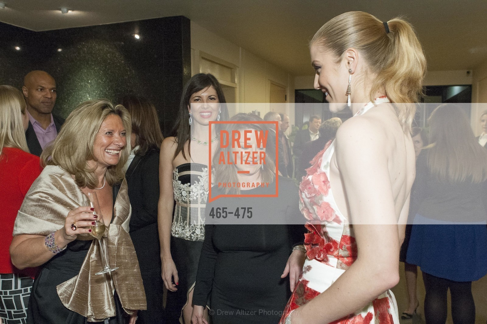 Florence Buatois, Caroline Toler, Christine Baur, Hannah Rose, RED CROSS Pre-Gala Champagne Reception, US. Stephen Silver Fine Jewelry, 2055 Woodside Road, Redwood City, CA 94061, January 22nd, 2014,Drew Altizer, Drew Altizer Photography, full-service agency, private events, San Francisco photographer, photographer california