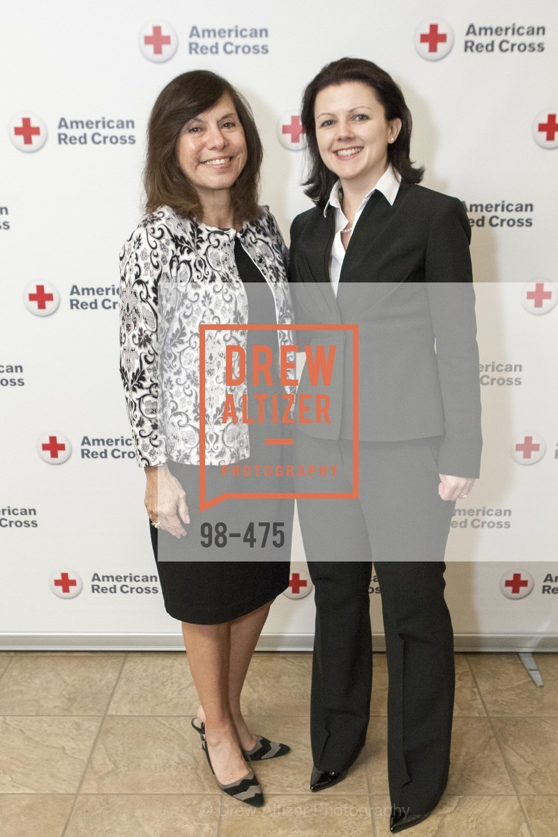 Margot Harrigan, Maureen McKenna, RED CROSS Pre-Gala Champagne Reception, US. Stephen Silver Fine Jewelry, 2055 Woodside Road, Redwood City, CA 94061, January 22nd, 2014,Drew Altizer, Drew Altizer Photography, full-service agency, private events, San Francisco photographer, photographer california
