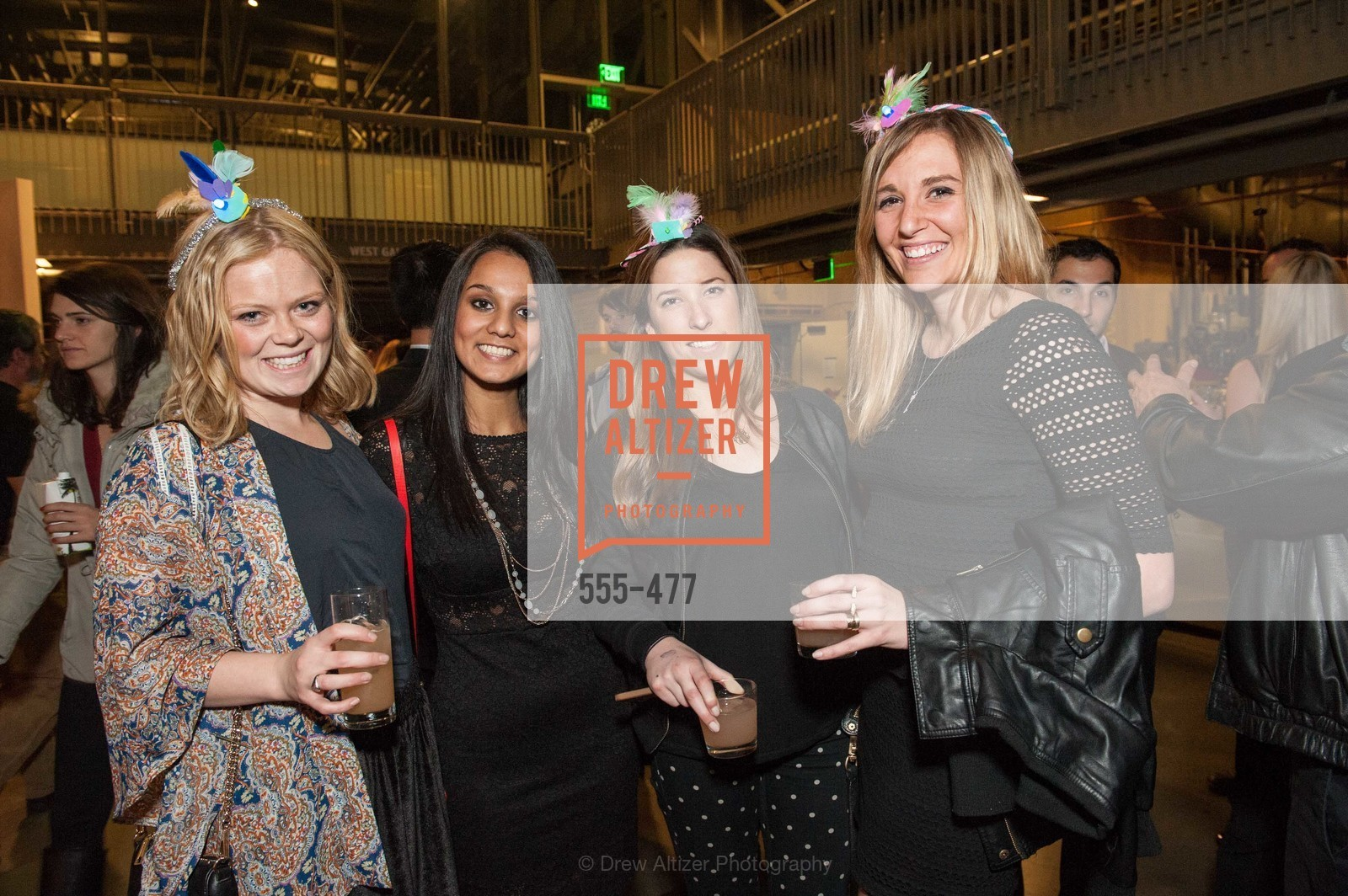 Sarah Rudolph, Sabina Khanna, Julienne Gamboa, Sophie Fieck, THE EXPLORATORIUM LAB Presents 2014 Science of Cocktails, US. US, January 24th, 2014,Drew Altizer, Drew Altizer Photography, full-service agency, private events, San Francisco photographer, photographer california