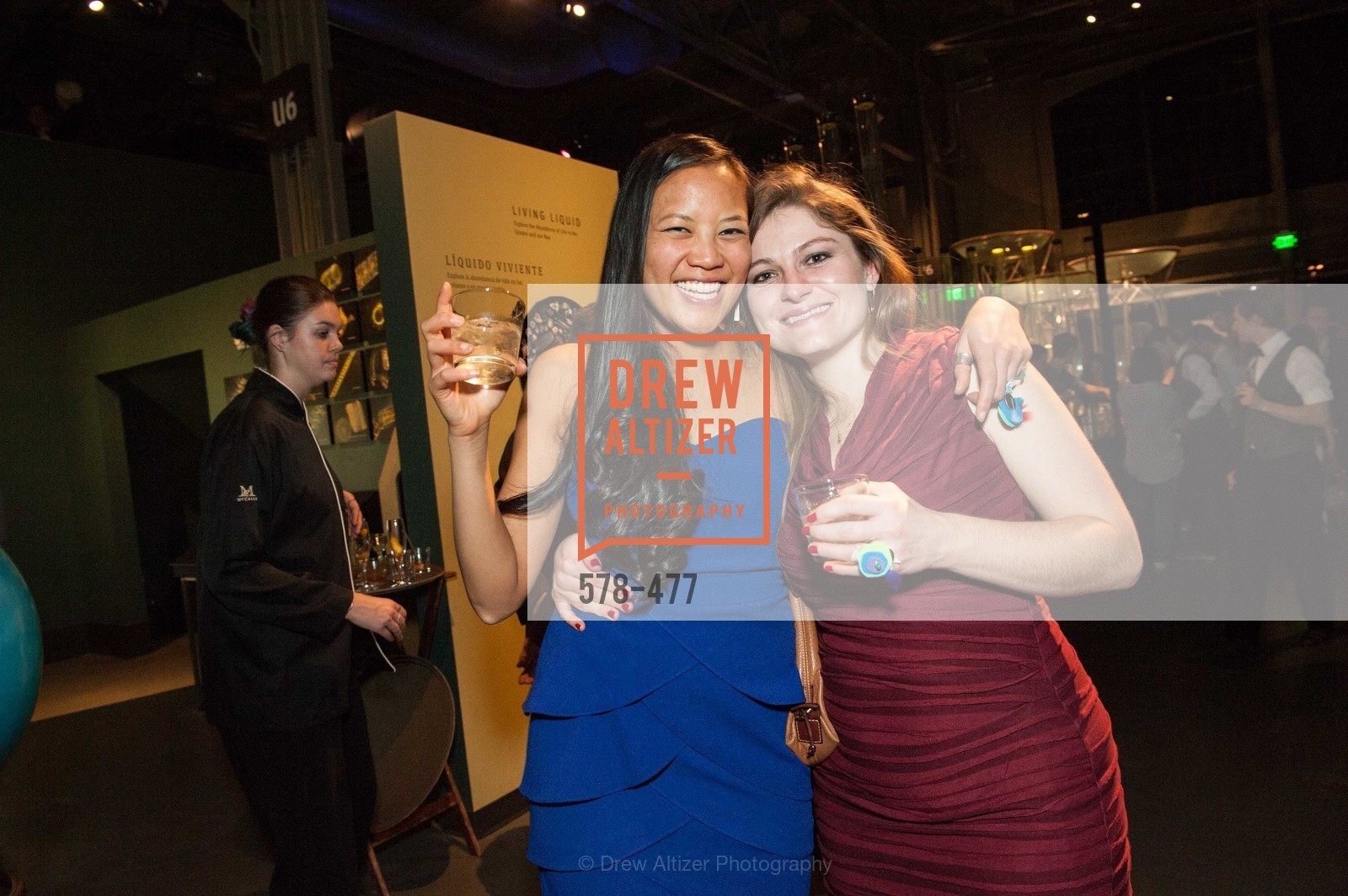 Sydney Phan, Kathy McKenzie, THE EXPLORATORIUM LAB Presents 2014 Science of Cocktails, US. US, January 24th, 2014,Drew Altizer, Drew Altizer Photography, full-service event agency, private events, San Francisco photographer, photographer California
