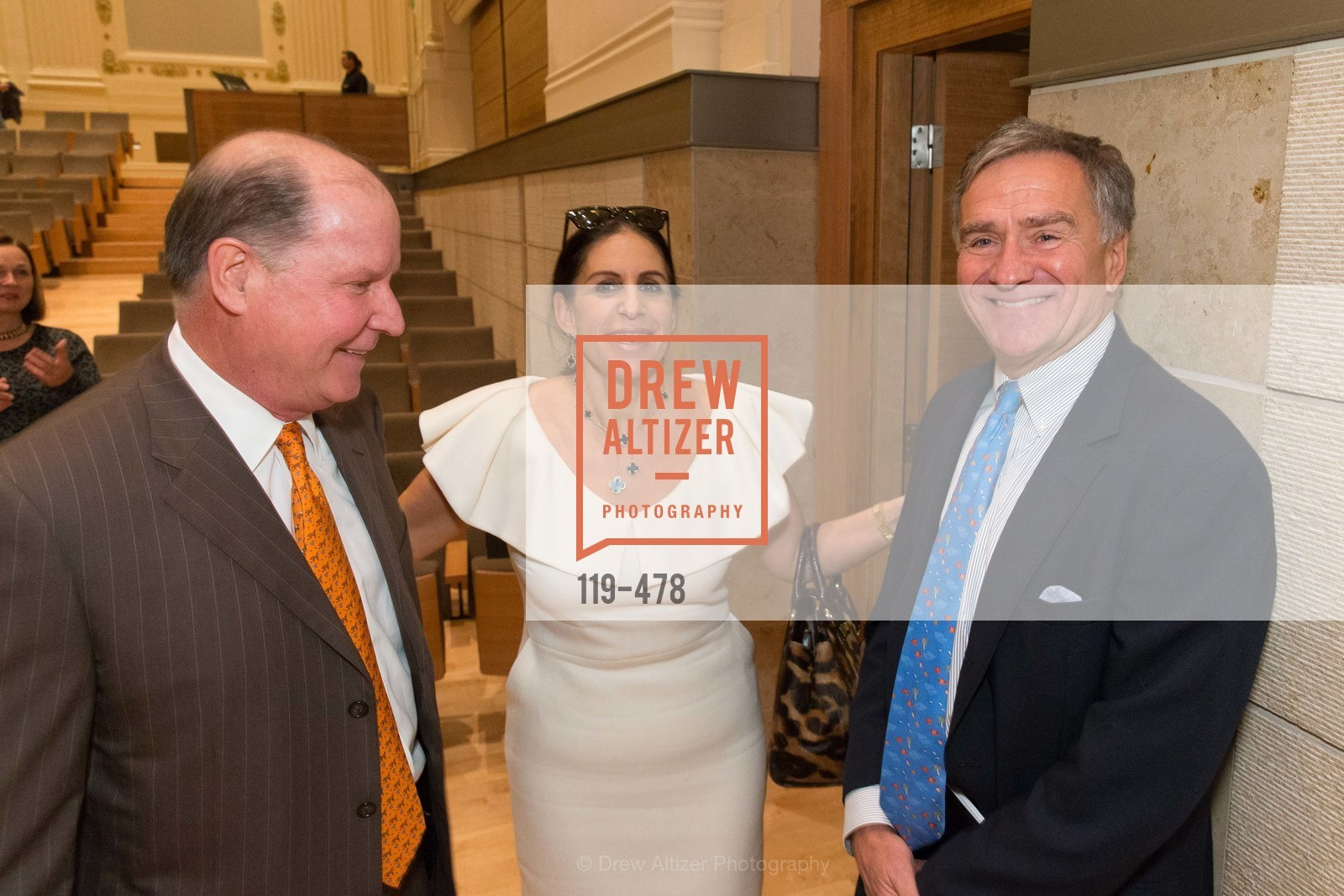 John Grotts, Lisa Grotts, Kent Baum, SAN FRANCISCO CONSERVATORY OF MUSIC'S 2014 Fanfare Luncheon, US. Conservatory of Music, January 24th, 2014,Drew Altizer, Drew Altizer Photography, full-service agency, private events, San Francisco photographer, photographer california