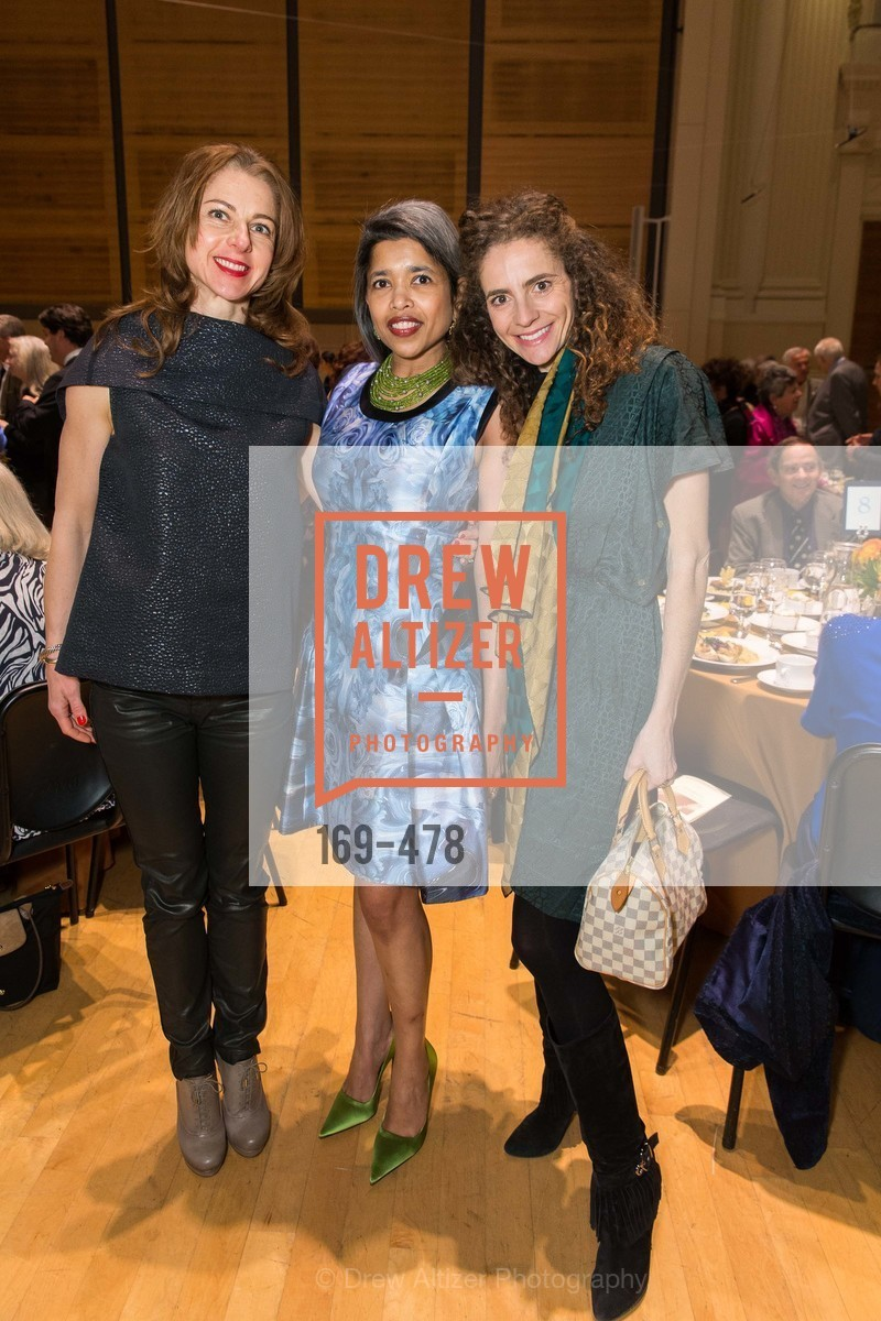 Zornitza Stefanova, Deepa Pakianathan, Monica Savini, SAN FRANCISCO CONSERVATORY OF MUSIC'S 2014 Fanfare Luncheon, US. Conservatory of Music, January 24th, 2014,Drew Altizer, Drew Altizer Photography, full-service agency, private events, San Francisco photographer, photographer california